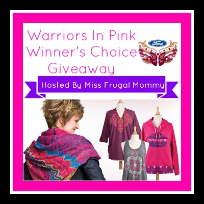 warriors in pink giveaway