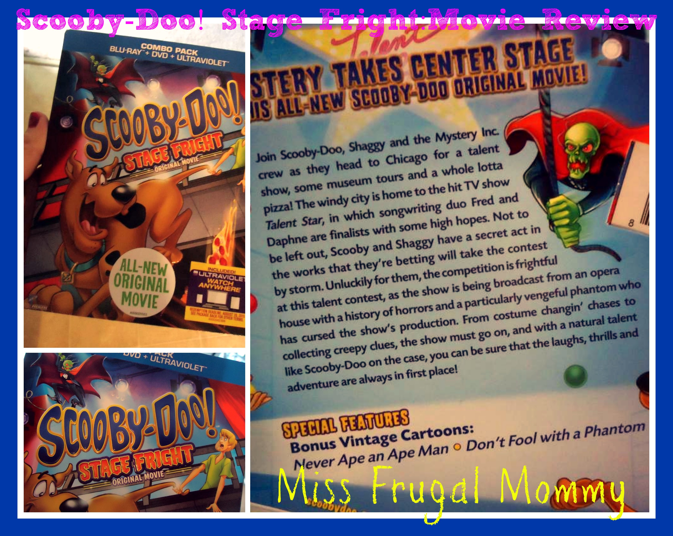 Scooby-Doo! Stage Fright: Movie Review