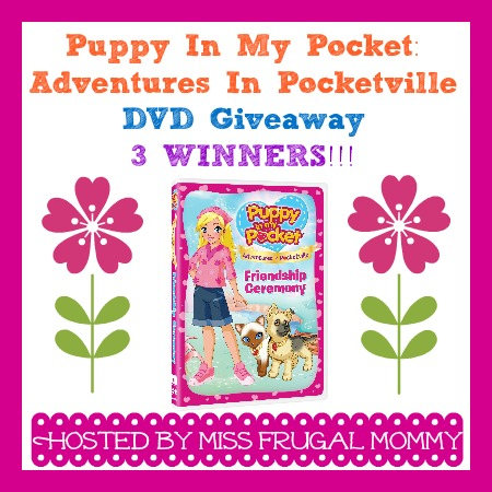 Puppy In My Pocket: Adventures In Pocketville: Review & Giveaway (3 Winners)
