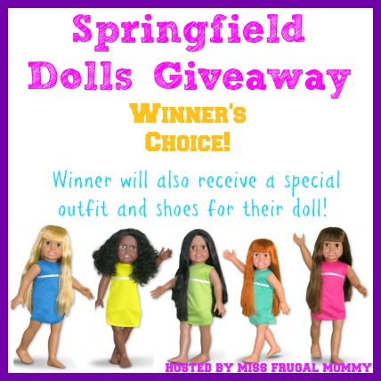 doll giveaway Enter to win a Springfield Doll!
