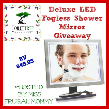 Http://missfrugalmommy.com/wp Content/uploads/2013/. Welcome To The Deluxe LED  Fogless Shower Mirror Giveaway