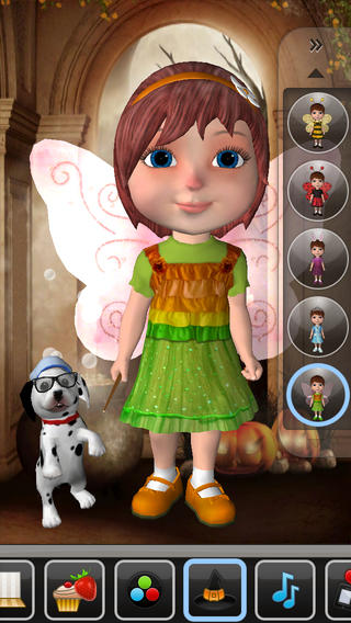 Talking Anya Dress-up & Pet Puppies App Review