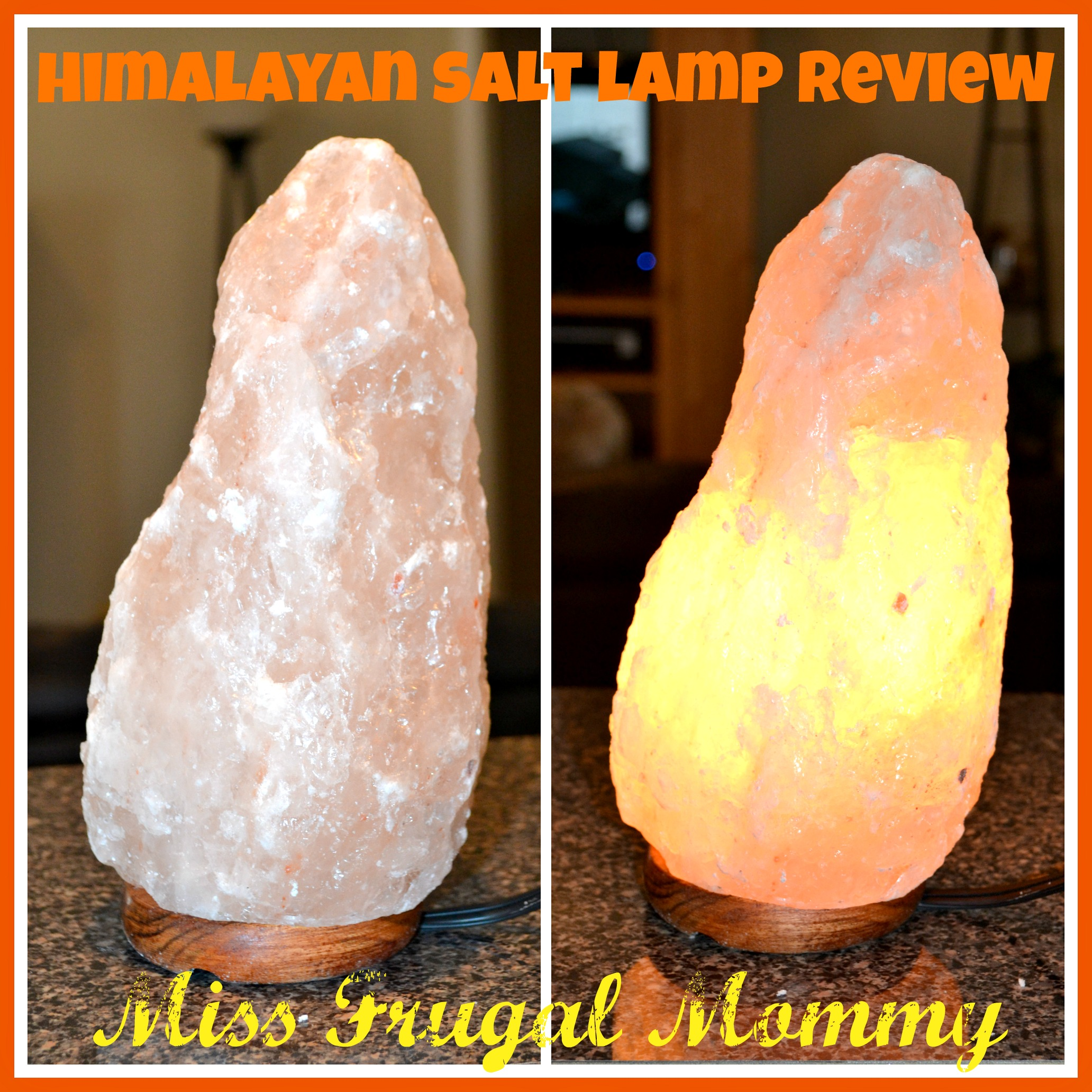 Mini Himalayan Salt Lamp Review Miss Frugal Mommy