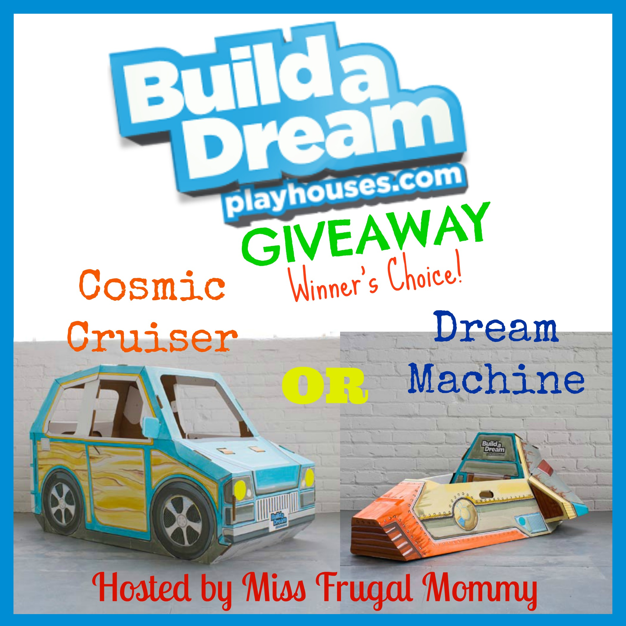 Build a Dream Playhouses Giveaway