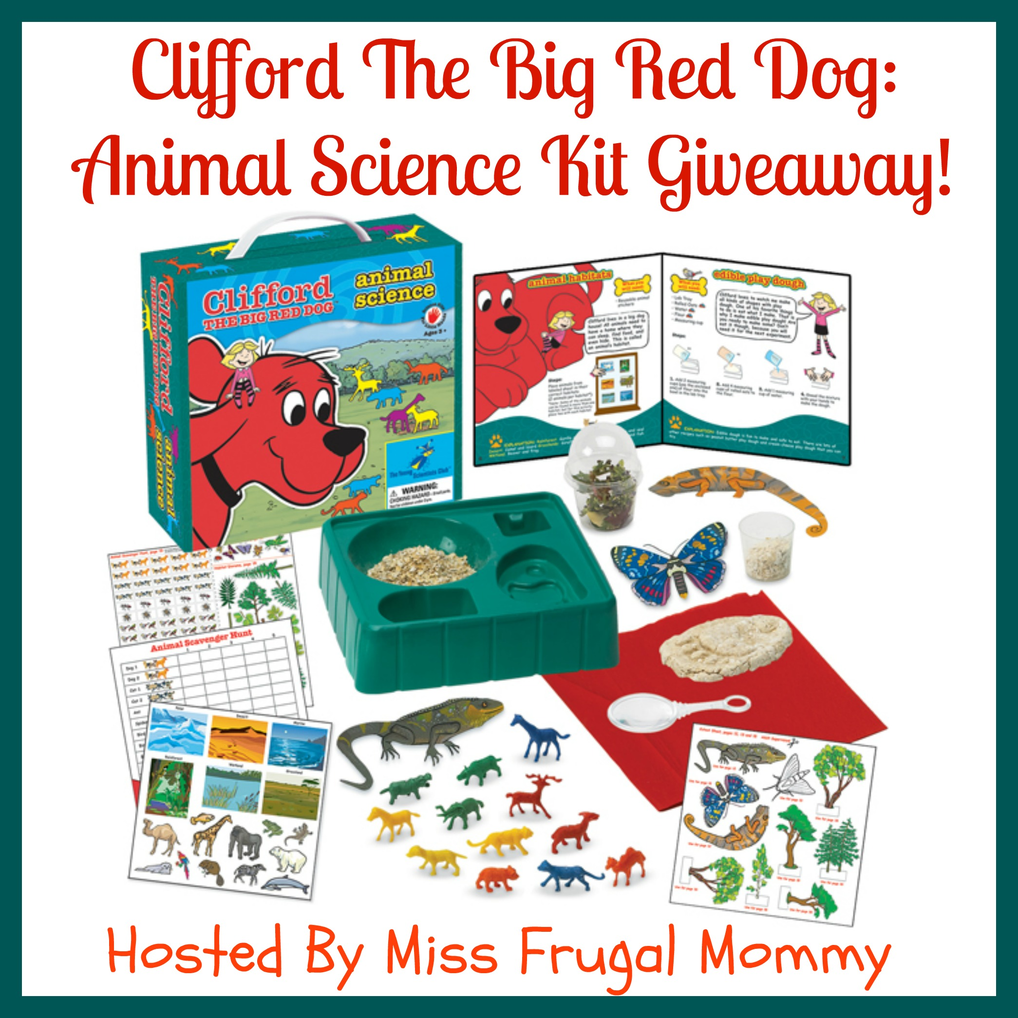 Clifford Animal Science Kit Giveaway