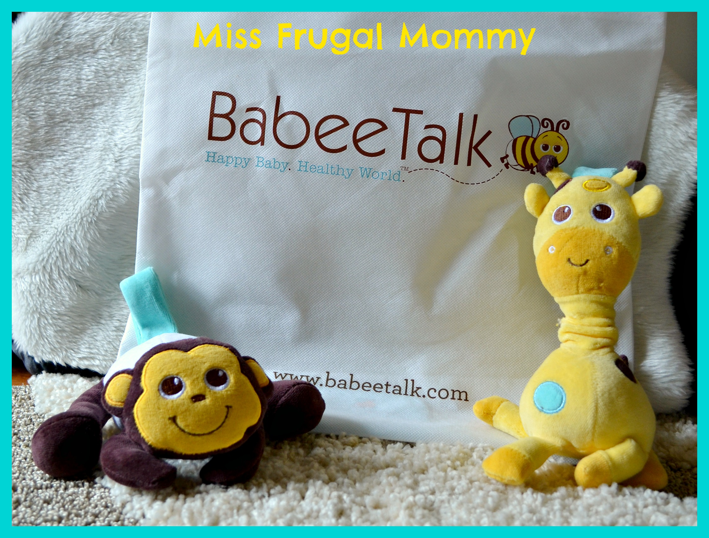 Babee Talk: Eco-Buds Take-Along Pals Review (Getting Ready For Baby Gift Guide)