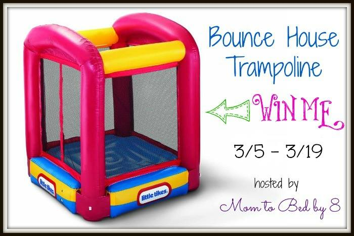 Little Tikes Bounce House Trampoline Giveaway