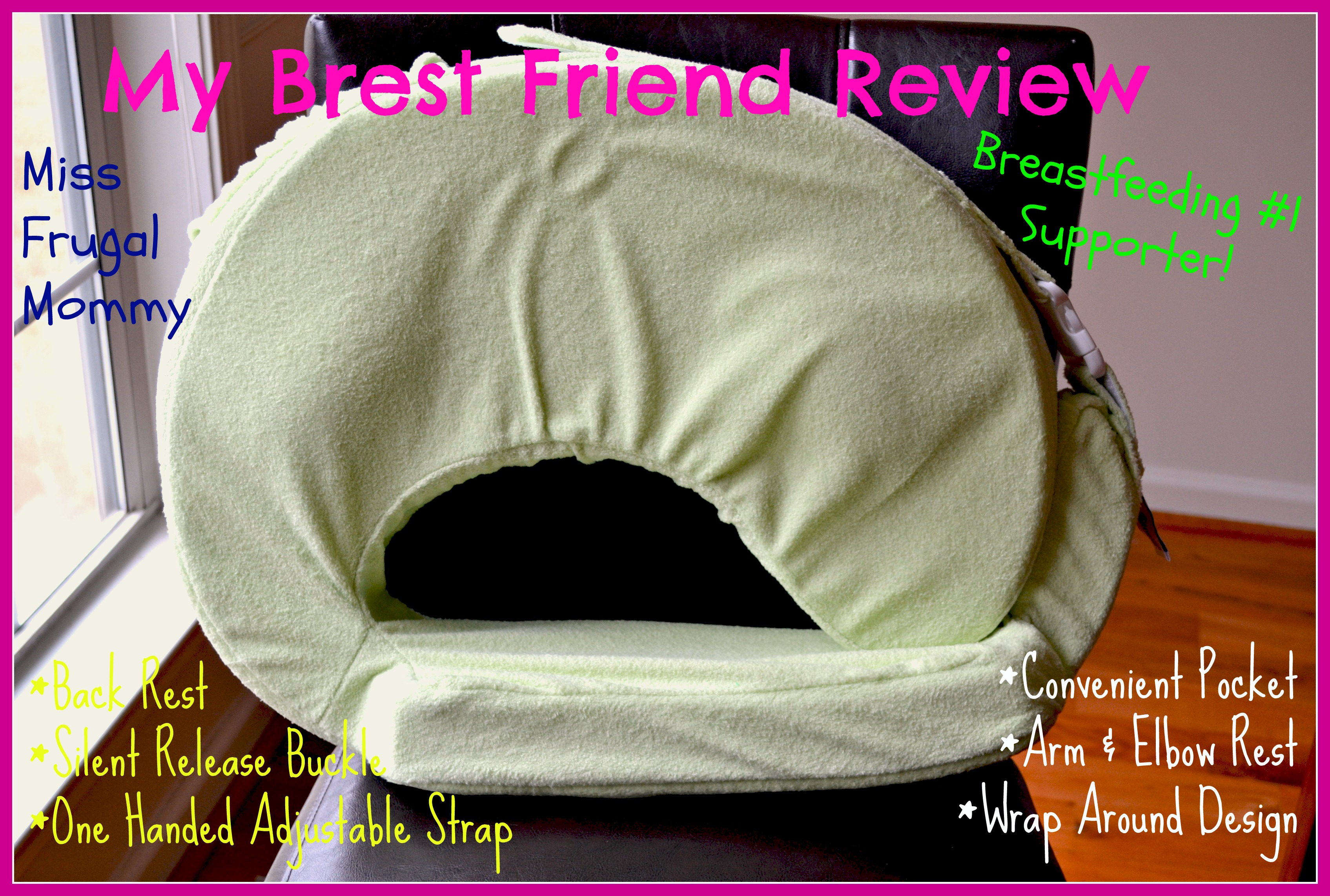 My Brest Friend Deluxe Pillow Review Getting Ready For