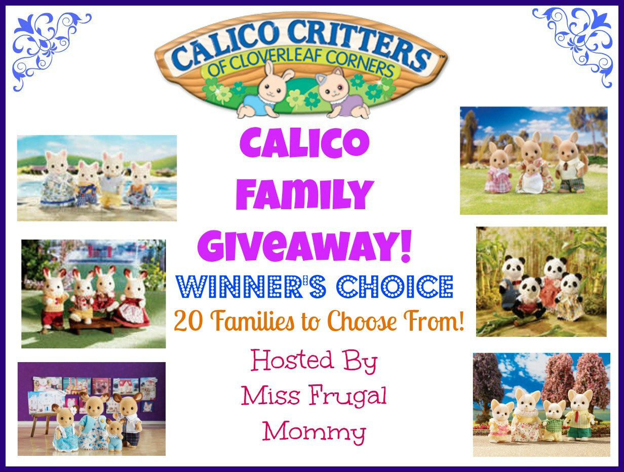 Calico Critters Family Giveaway