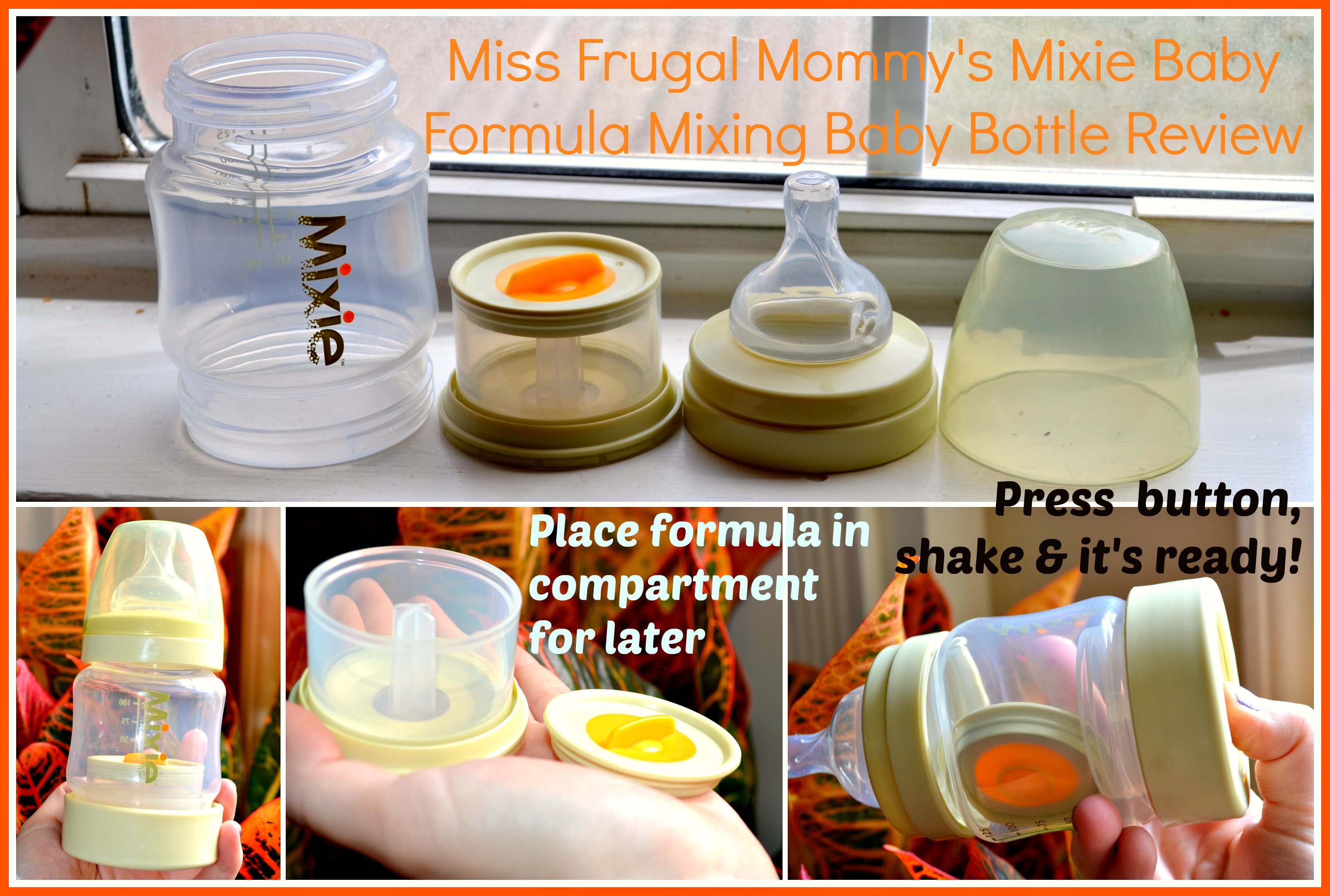 exederm Baby Skin Products & Mixie Bottle Review (Getting Ready For Baby Gift Guide)