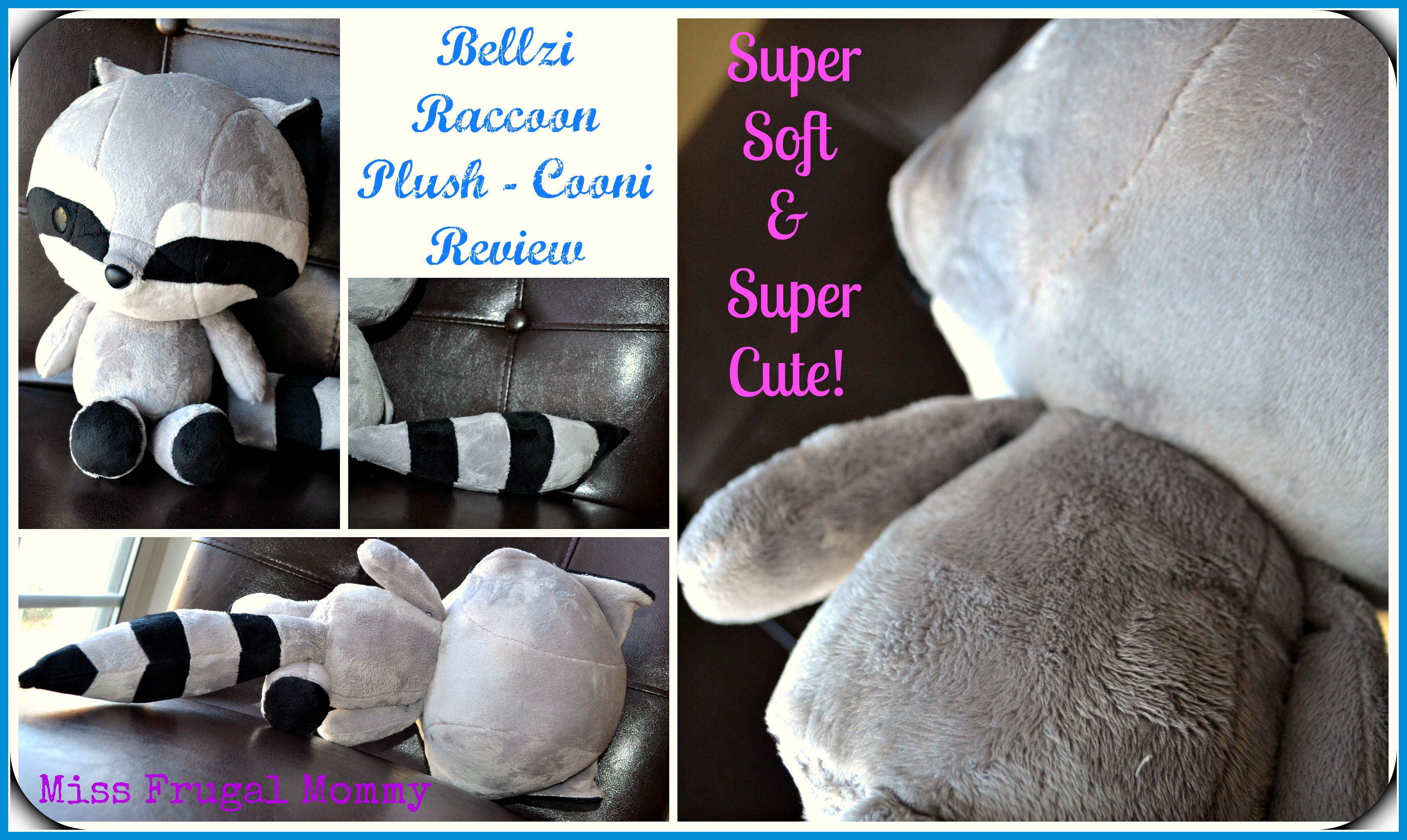 Bellzi Raccoon Plush - Cooni Review (Getting Ready For Baby Gift Guide)