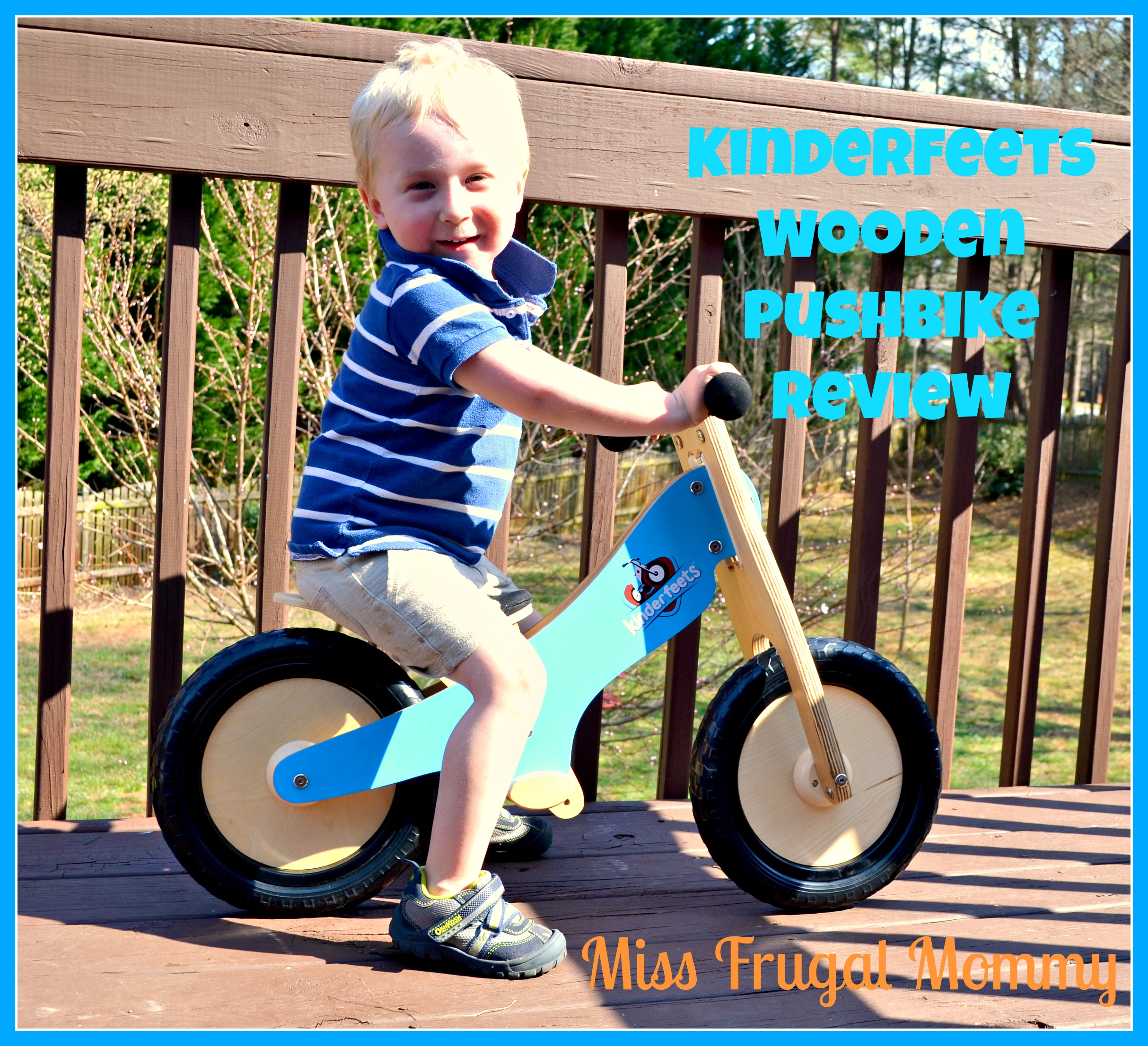 Kinderfeets: The Wooden Pushbike Review