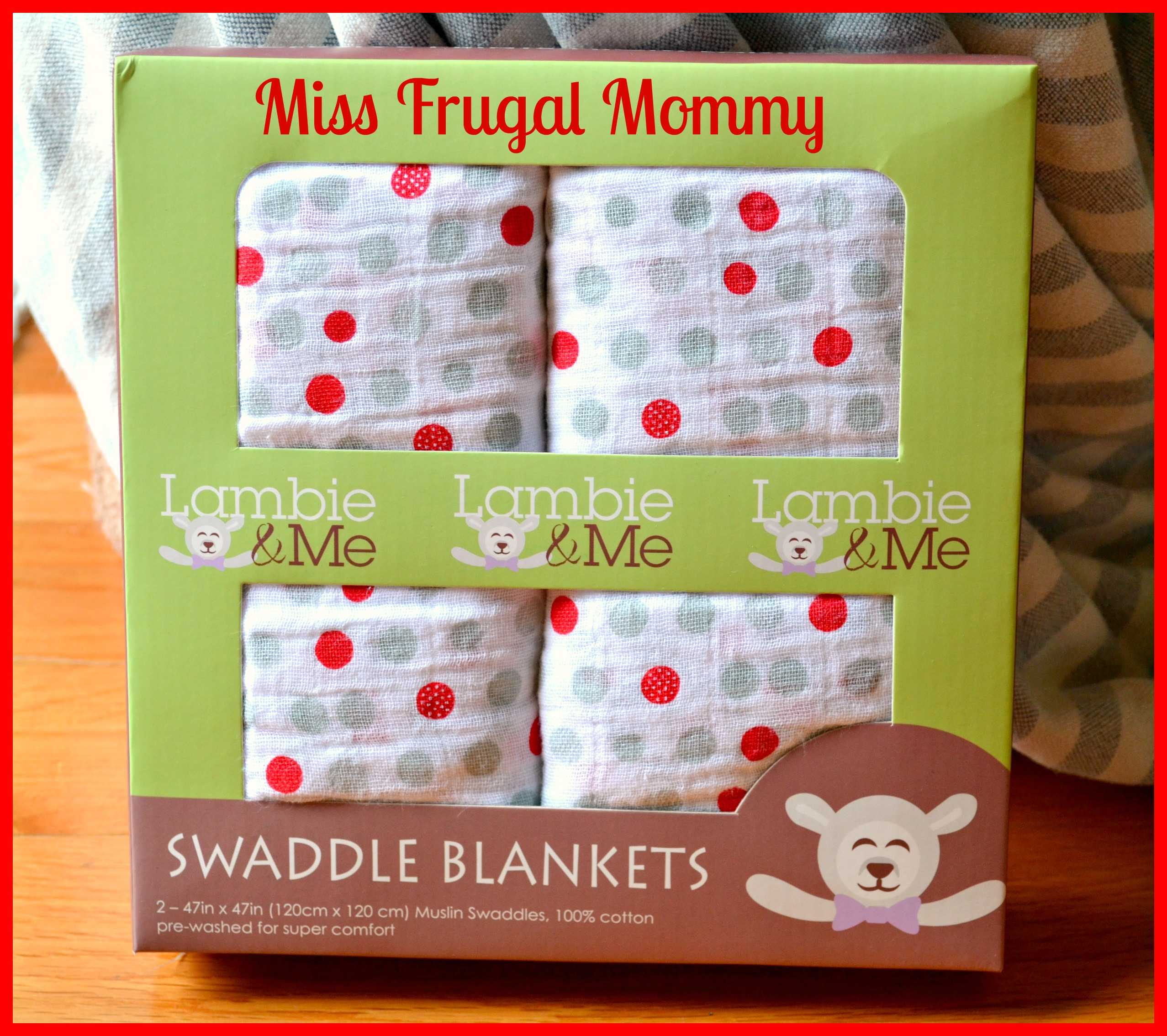 Lambie & Me Swaddle Blankets Review (Getting Ready For Baby Gift Guide)