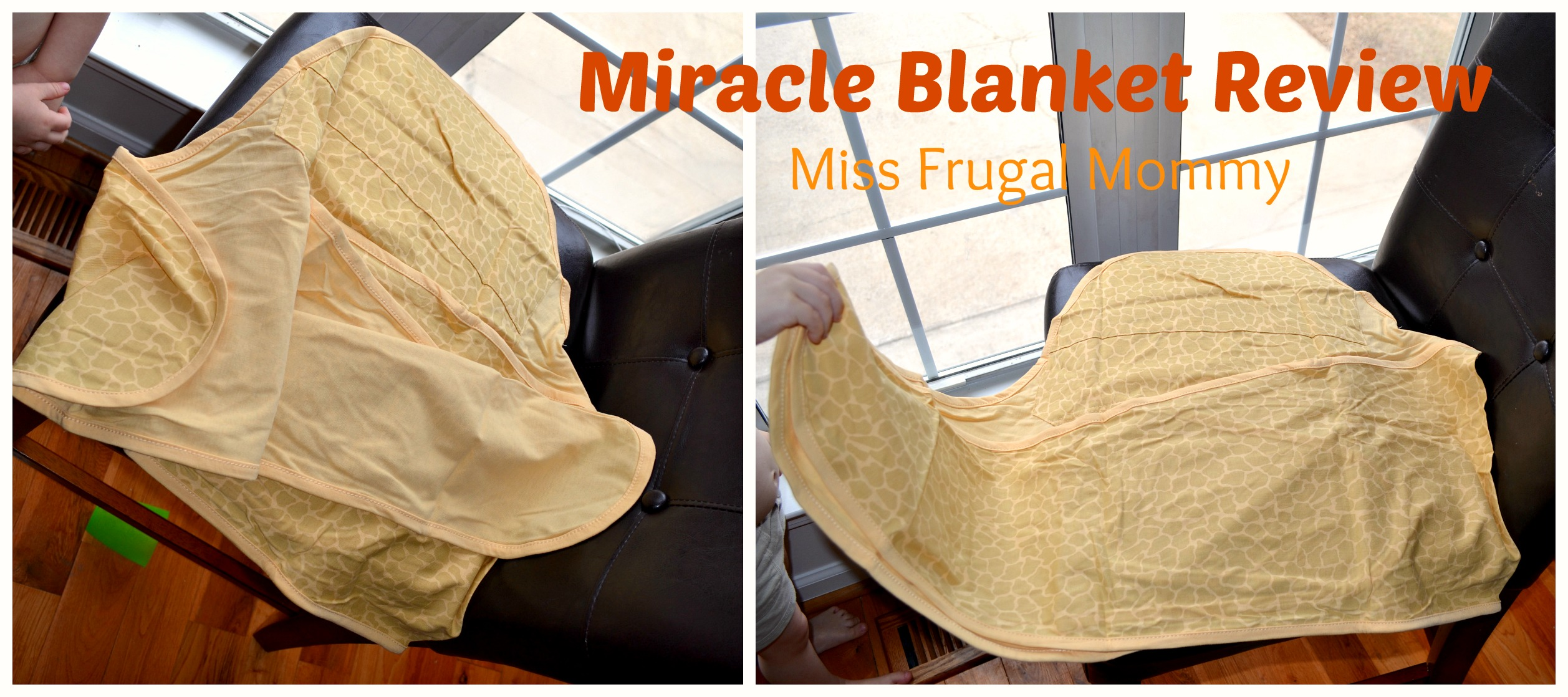 Miracle Blanket Review (Getting Ready For Baby Gift Guide)