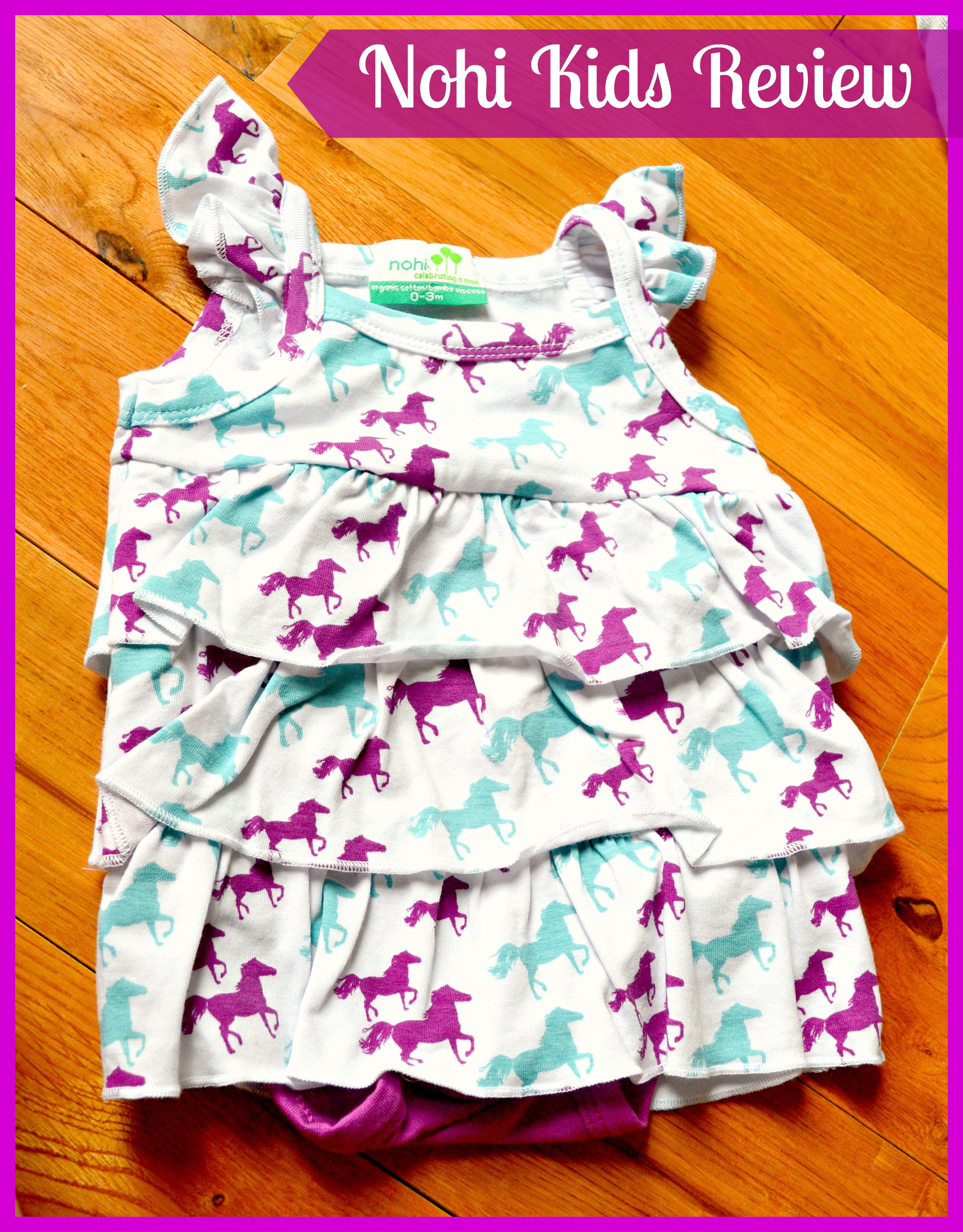 Nohi Kids Clothing Review (Getting Ready For Baby Gift Guide)