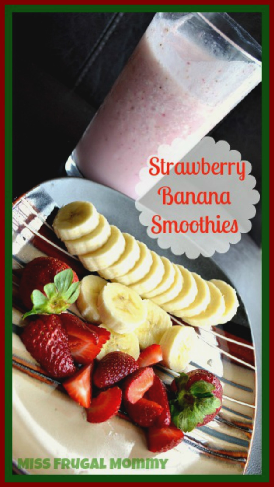 Easy Strawberry Banana Smoothies Even the Kids Will Love