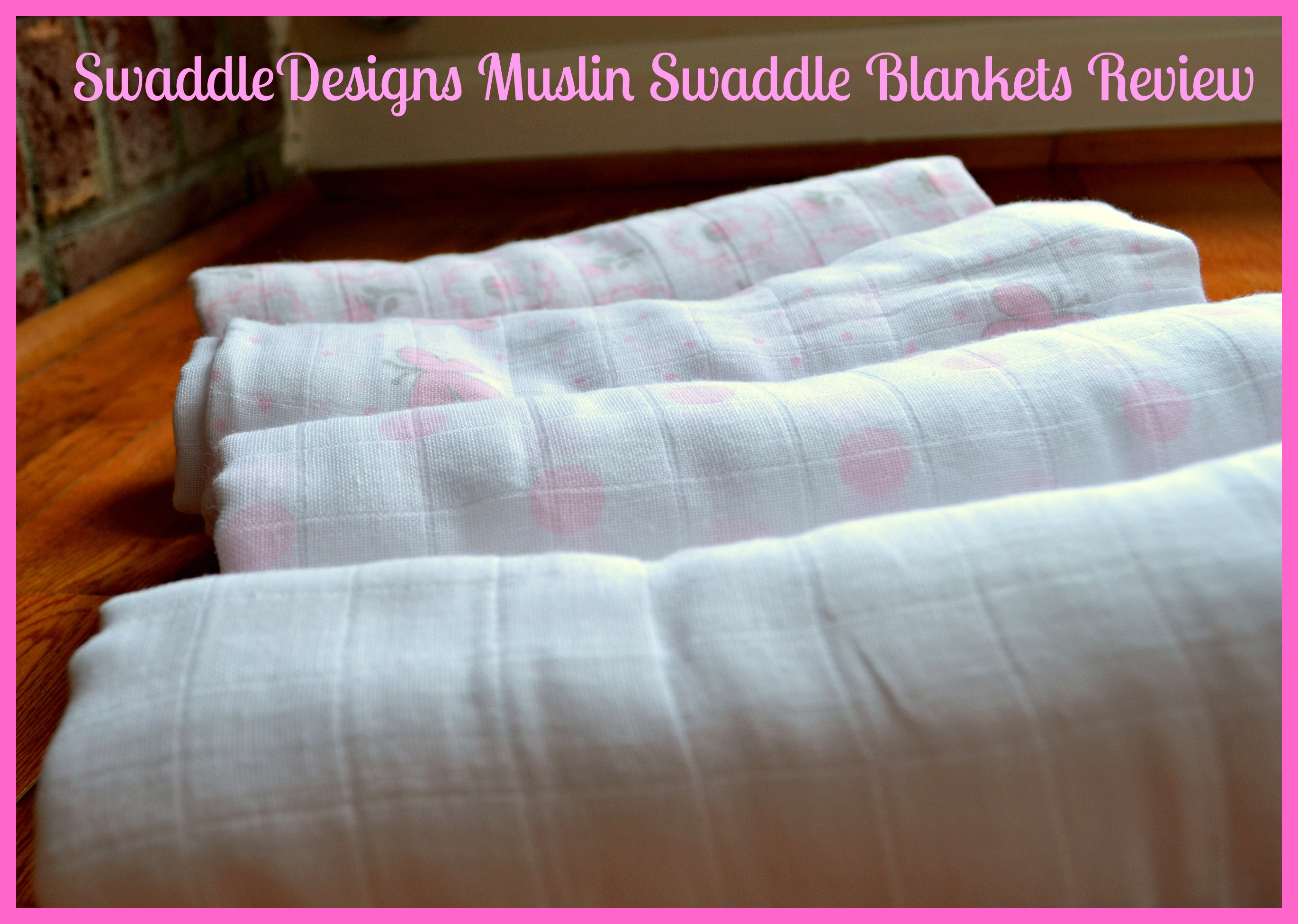 SwaddleDesigns Muslin Swaddle Blankets Review (Getting Ready For Baby Gift Guide)