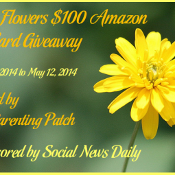 2014-04-21 May Flowers $100 Amazon Gift Card Giveaway (2)
