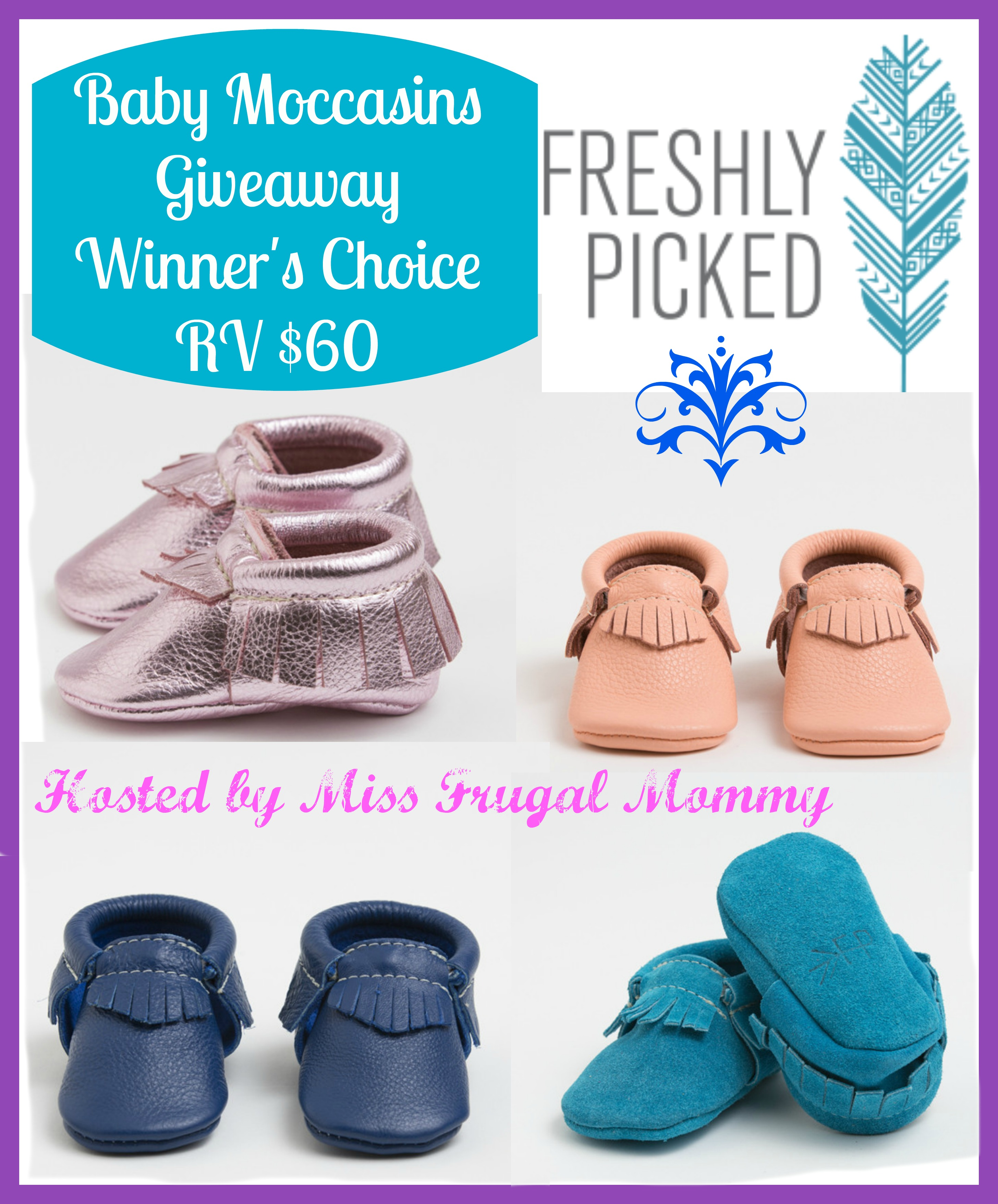 Freshly Picked Baby Moccasins Giveaway: Winner's Choice
