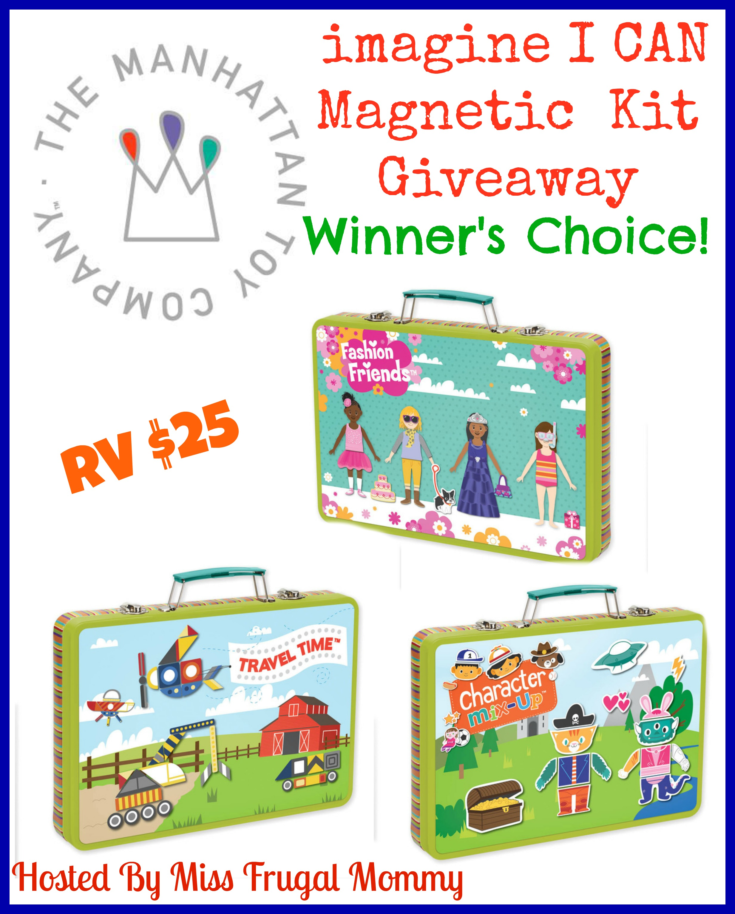 Enter the I CAN Magnetic Kit Giveaway. Ends 5/14