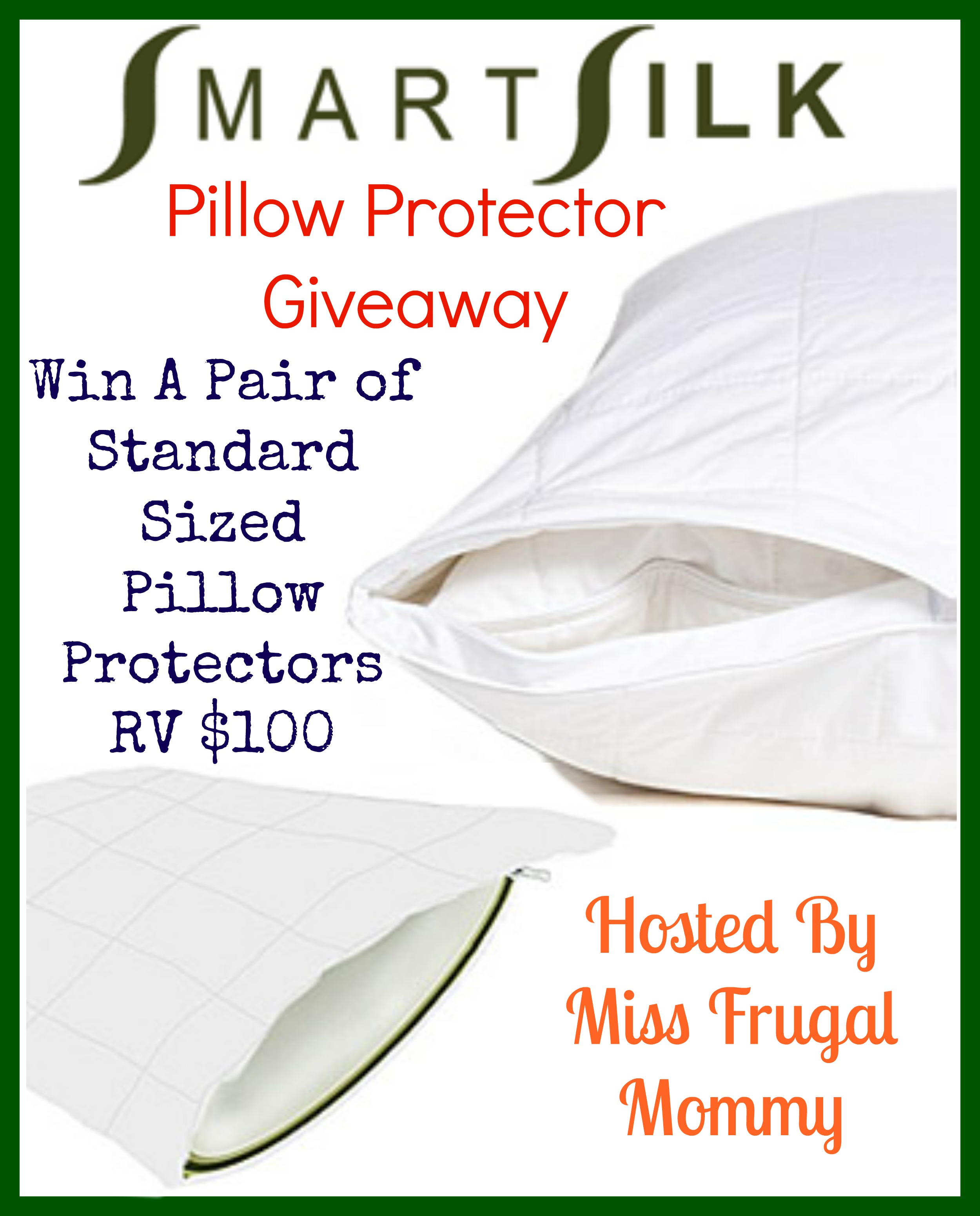 SmartSilk Pillow Protector Giveaway