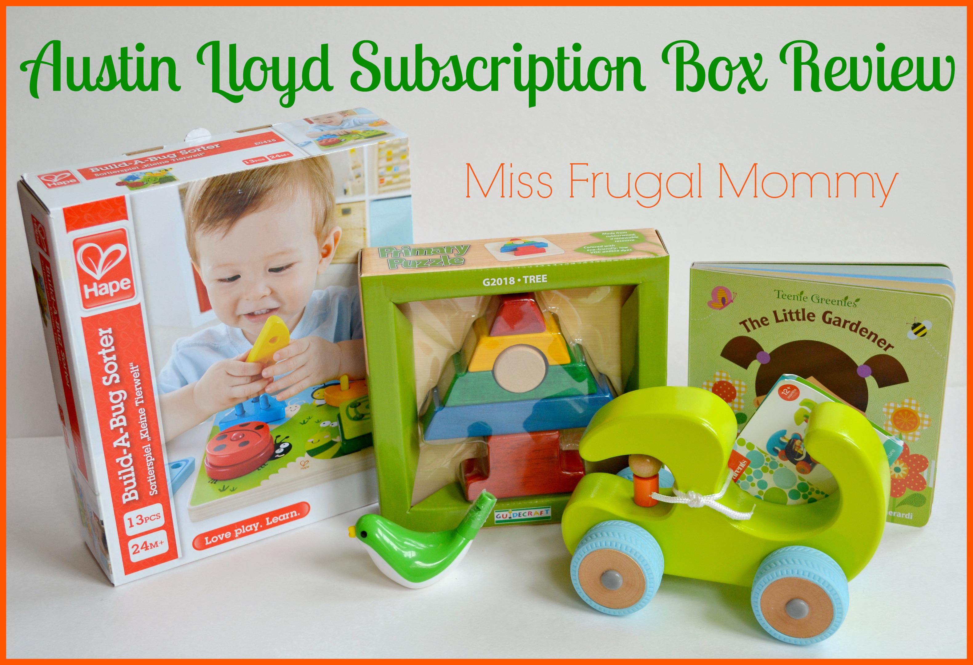 Austin Lloyd Subscription Box Review