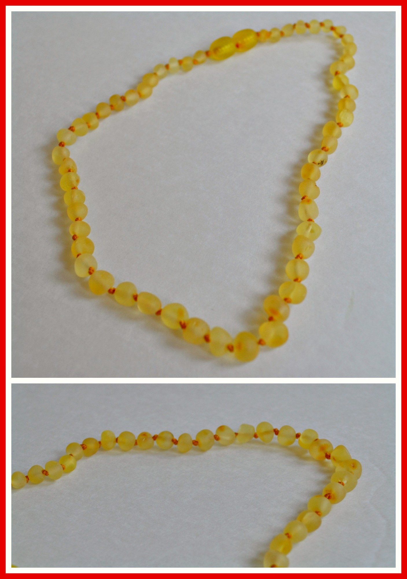 Amber For Babies: Amber Teething Necklace Review (Getting Ready For Baby Gift Guide)