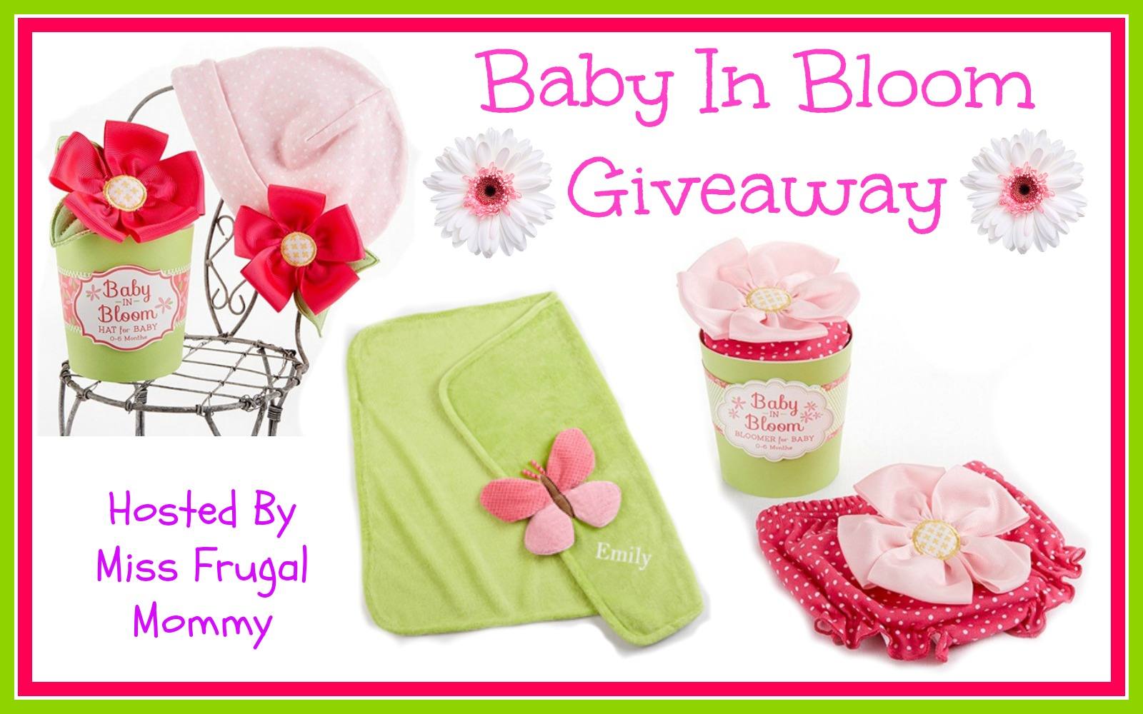 Baby In Bloom Giveaway ~ Ends 5/2
