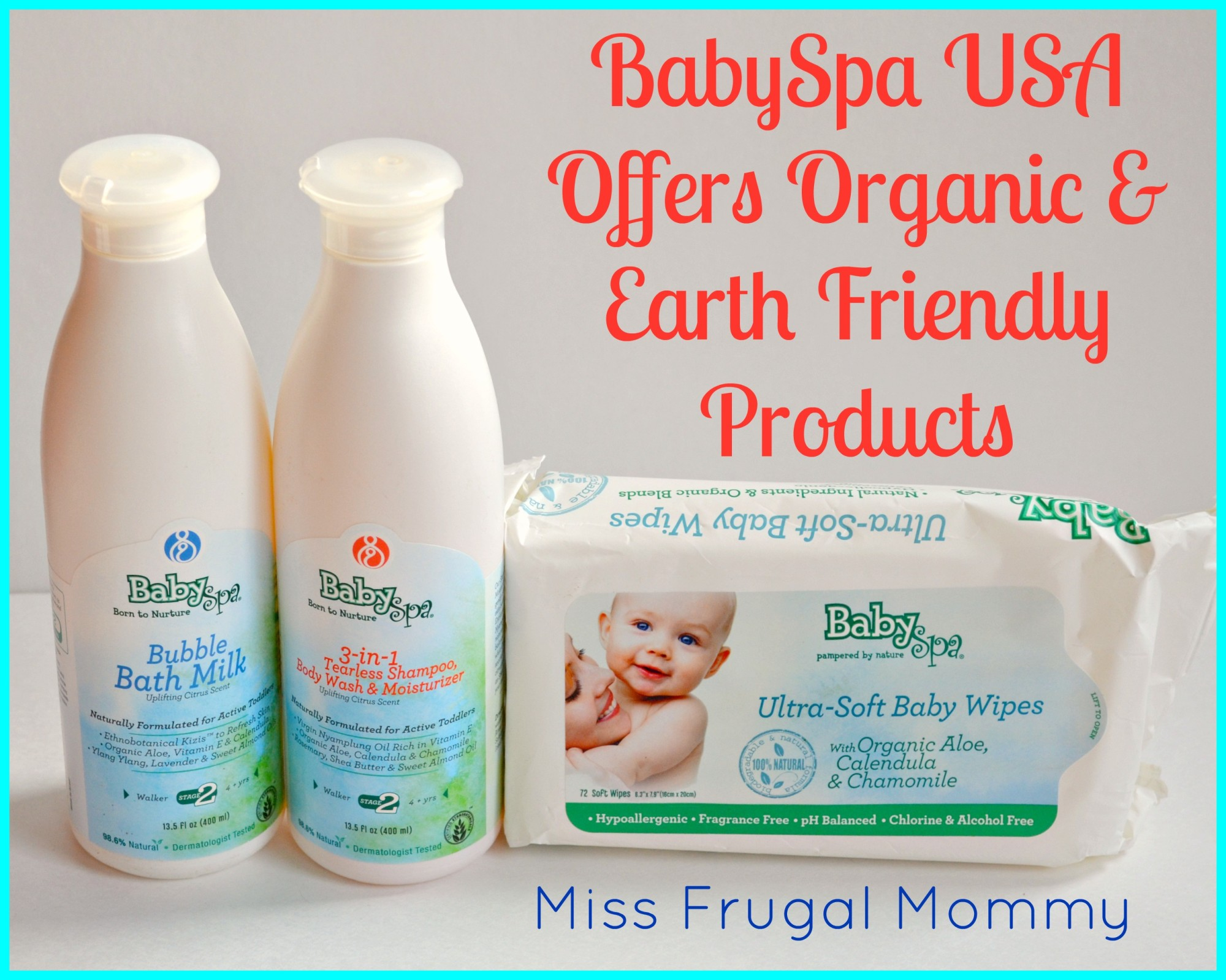 BabySpa USA Offers Organic & Earth Friendly Products