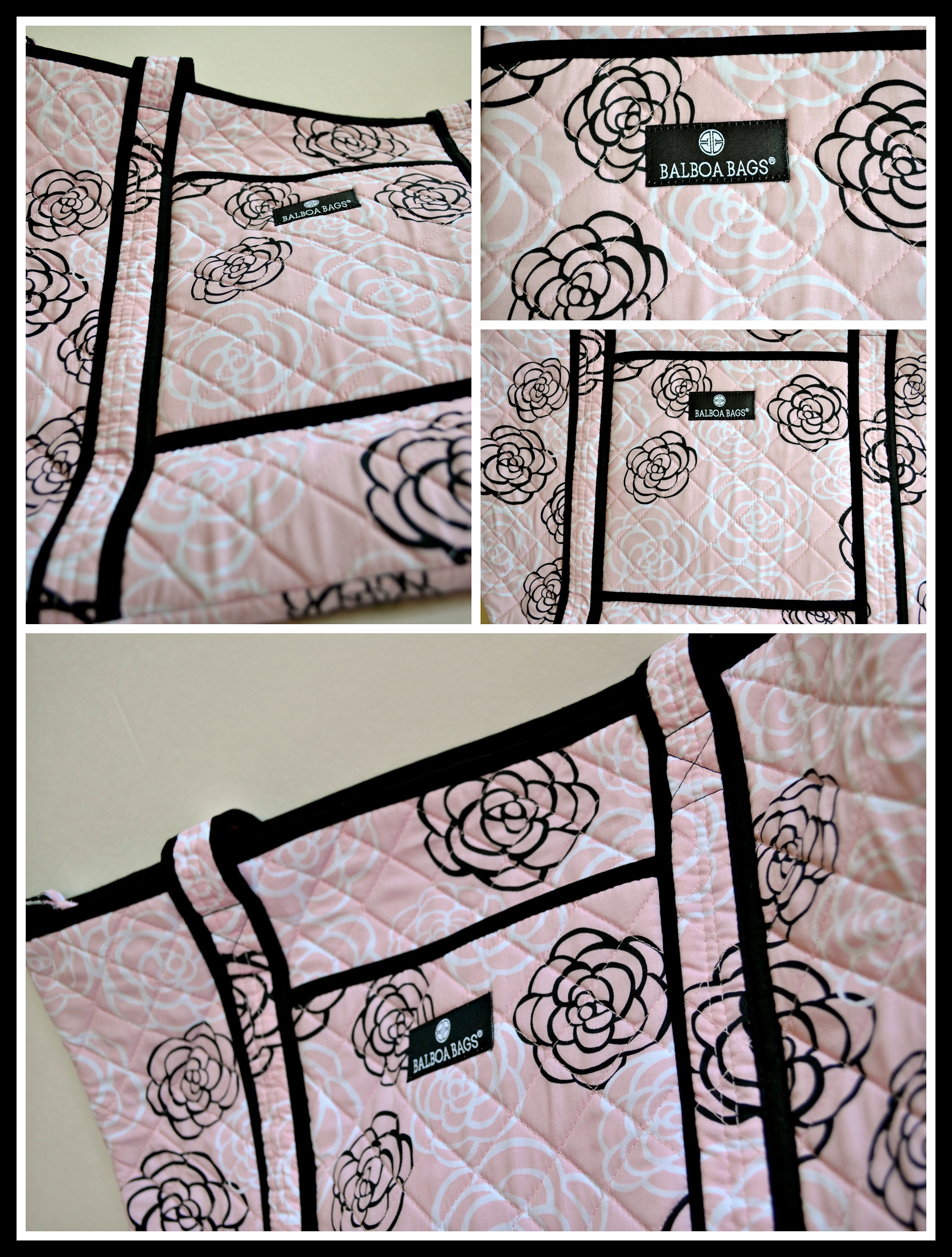 Balboa Baby: Pink Camellia Tote Bag (Getting Ready For Baby Gift Guide)