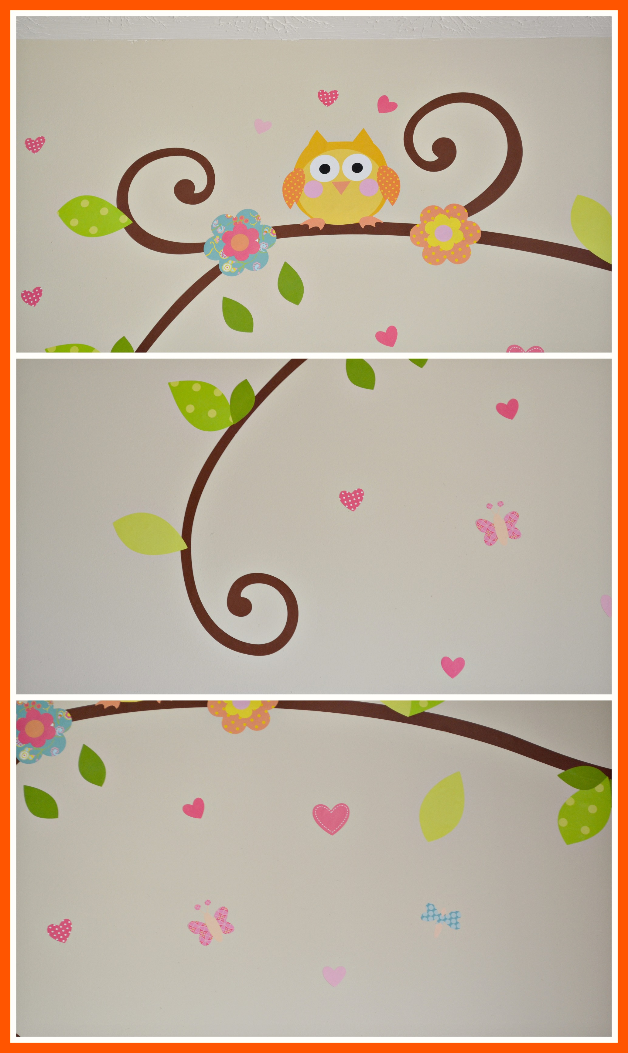 RoomMates Scroll Tree Branch Wall Decal Review (Getting Ready For Baby Gift Guide)