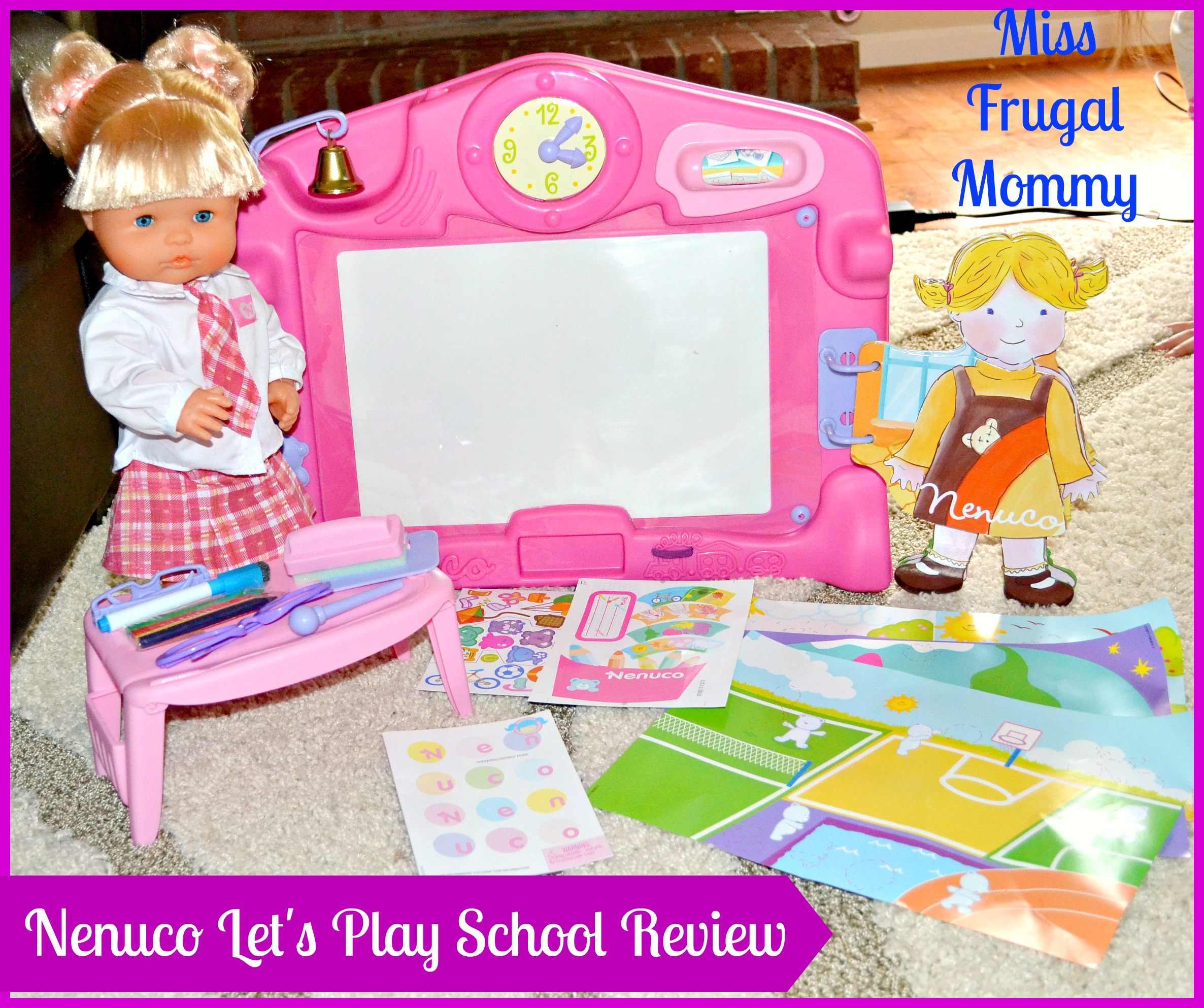 Nenuco Let's Play School Review