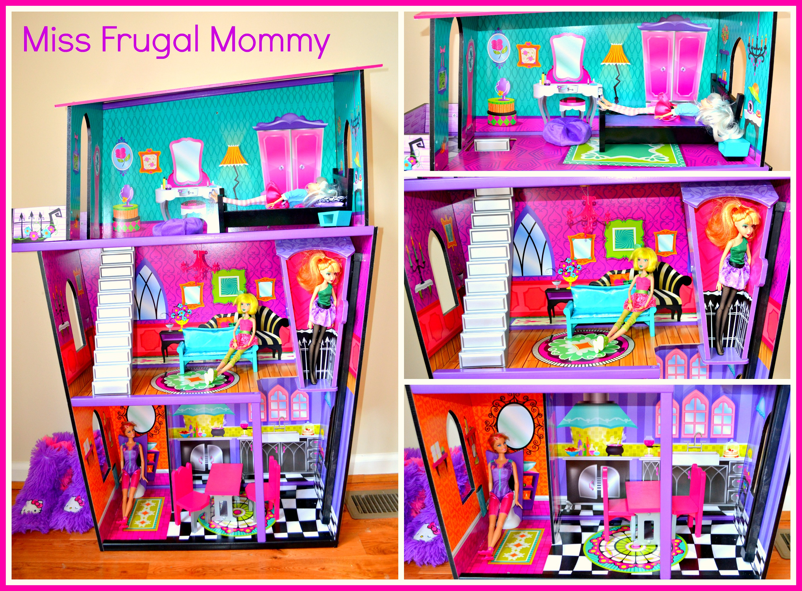 http://missfrugalmommy.com/kidkraft-monster-manor-dollhouse-review/