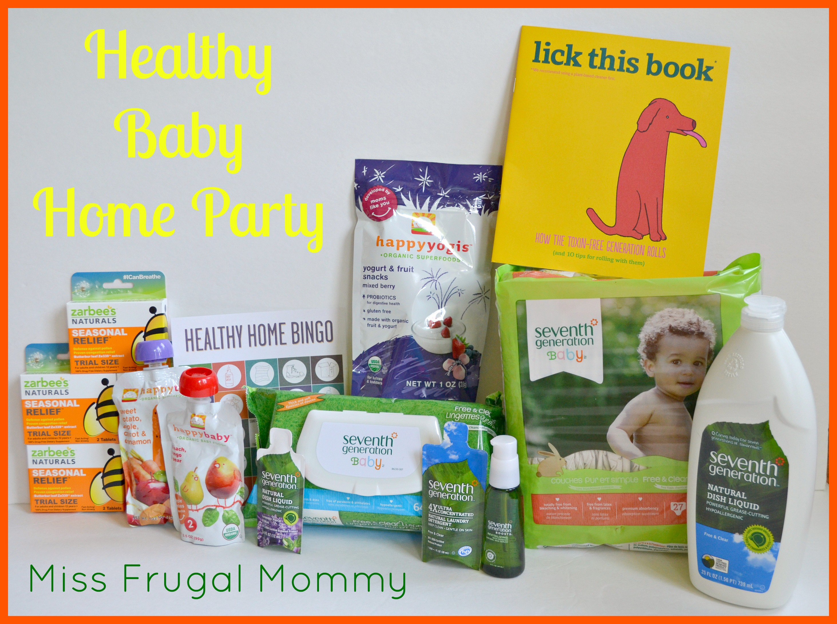Seventh Generation: Healthy Baby Home Party