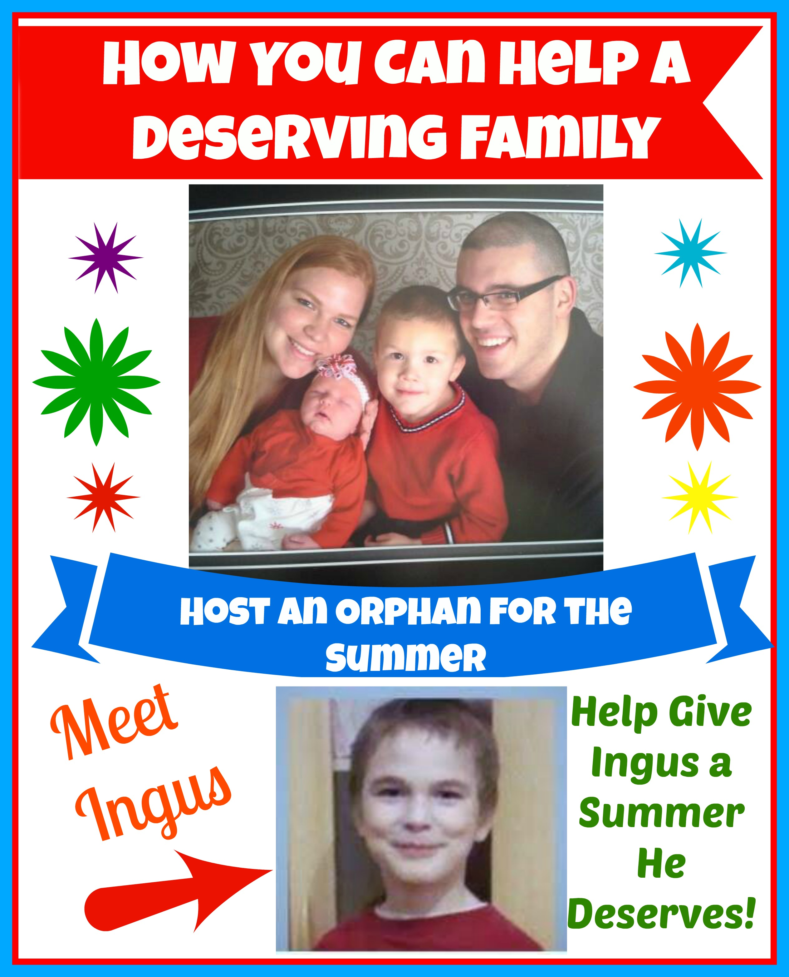 How You Can Help a Deserving Family Host an Orphan for the Summer