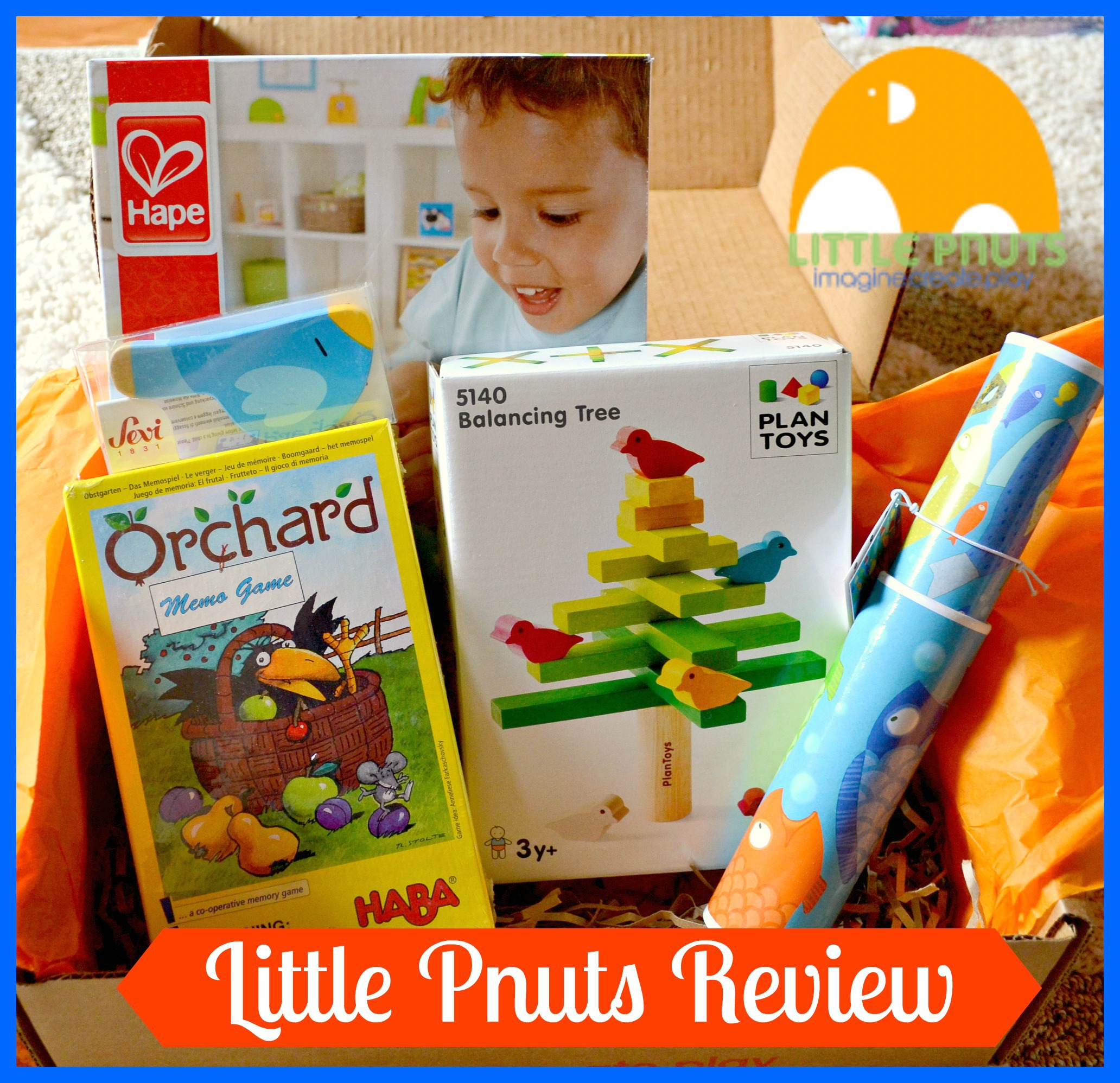 Little Pnuts Subscription Box Review (Getting Ready For Baby Gift Guide)