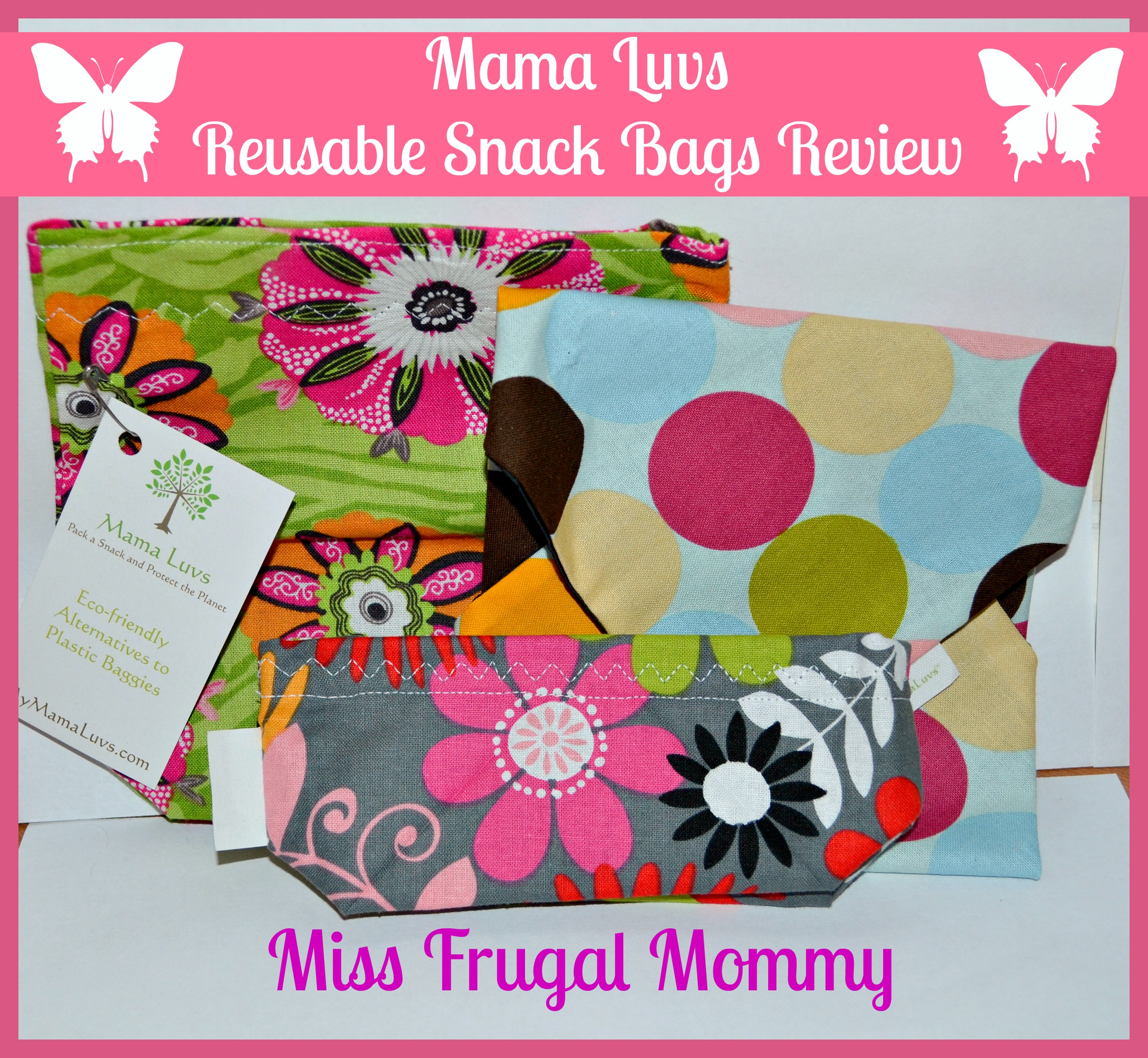 Mama Luvs Reusable Snack Bags Review