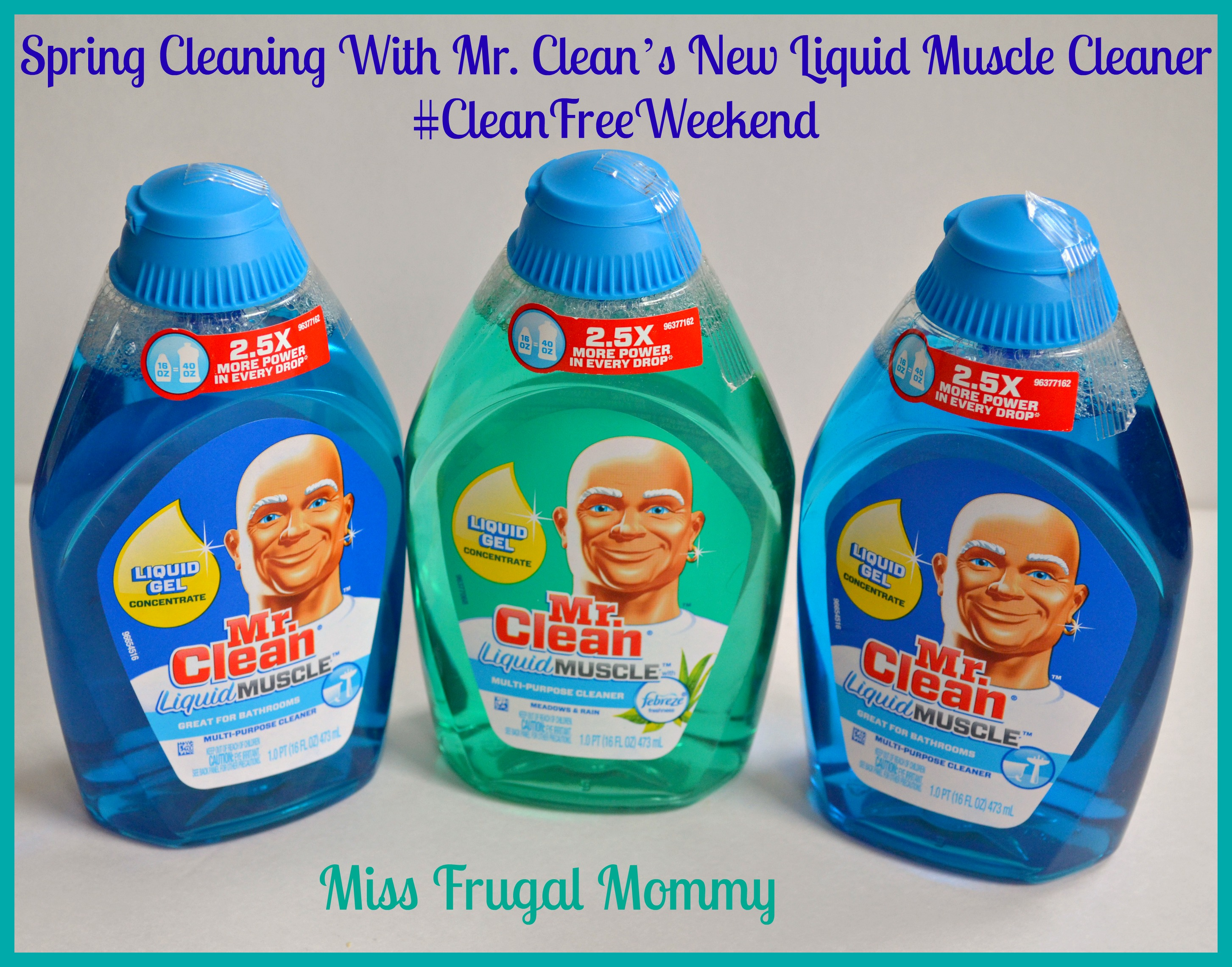 mr clean how to ckean bathrooms