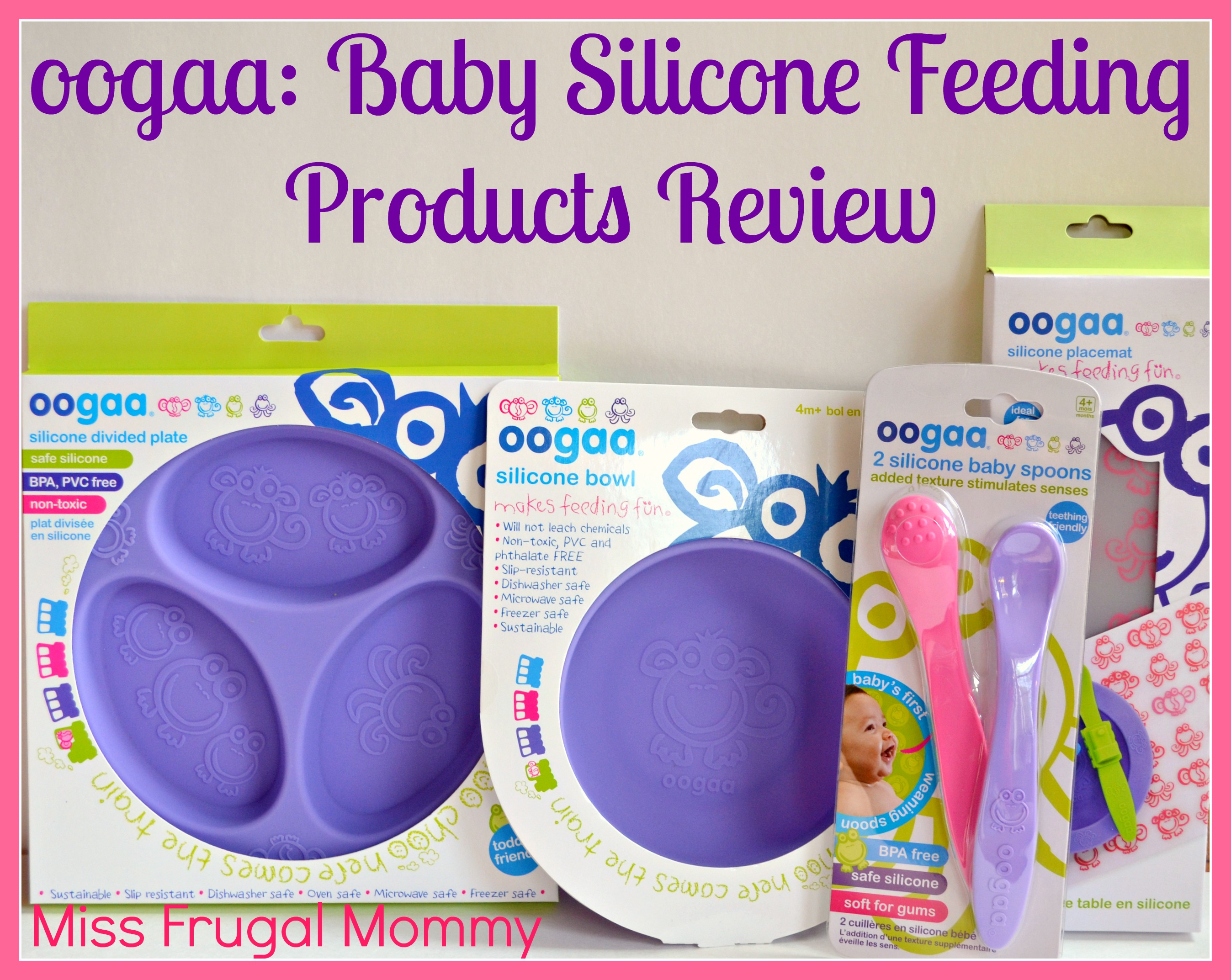 oogaa: Baby Silicone Feeding Products Review (Getting Ready For Baby Gift Guide)