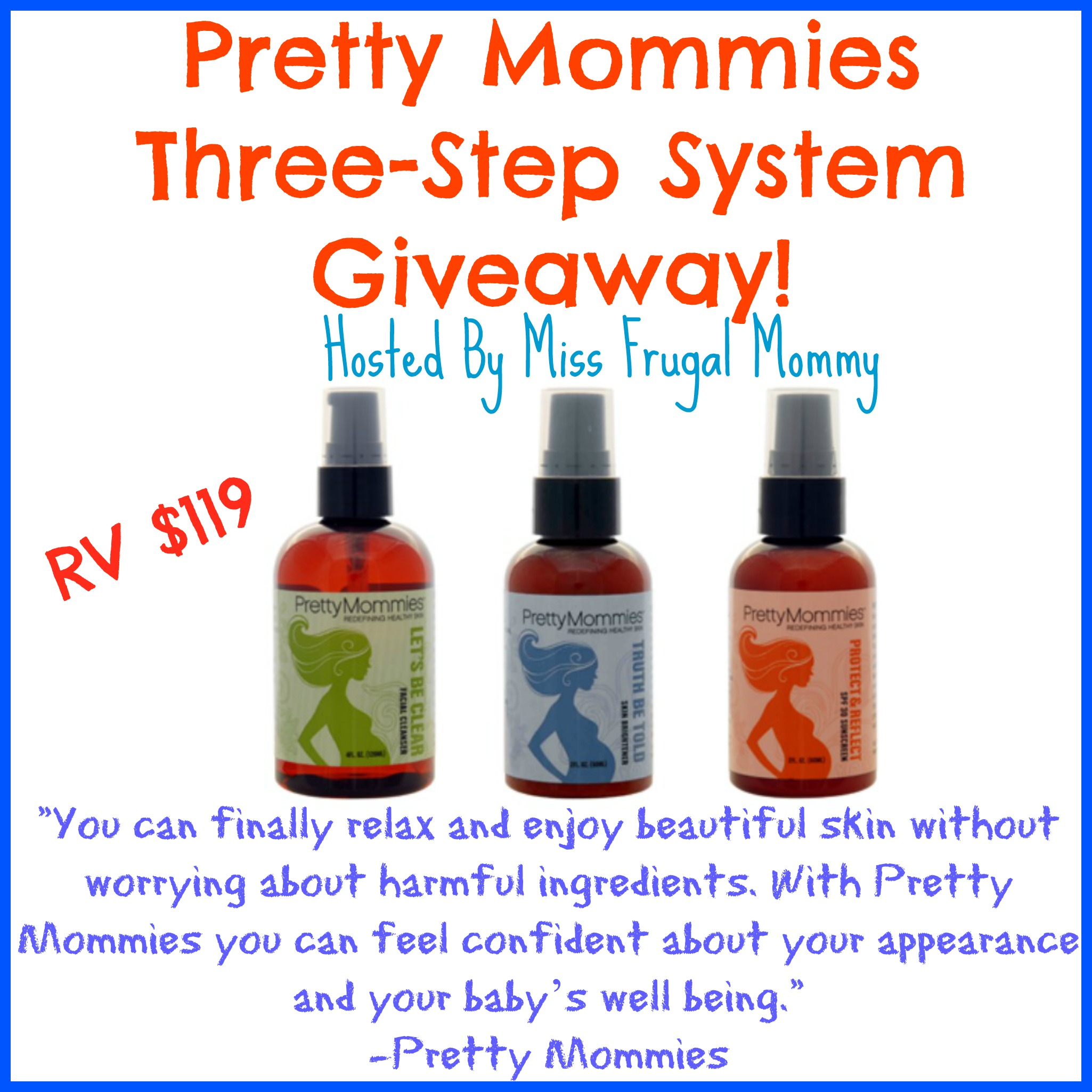 Pretty Mommies Skin Care Set Giveaway ~ Ends 5/1