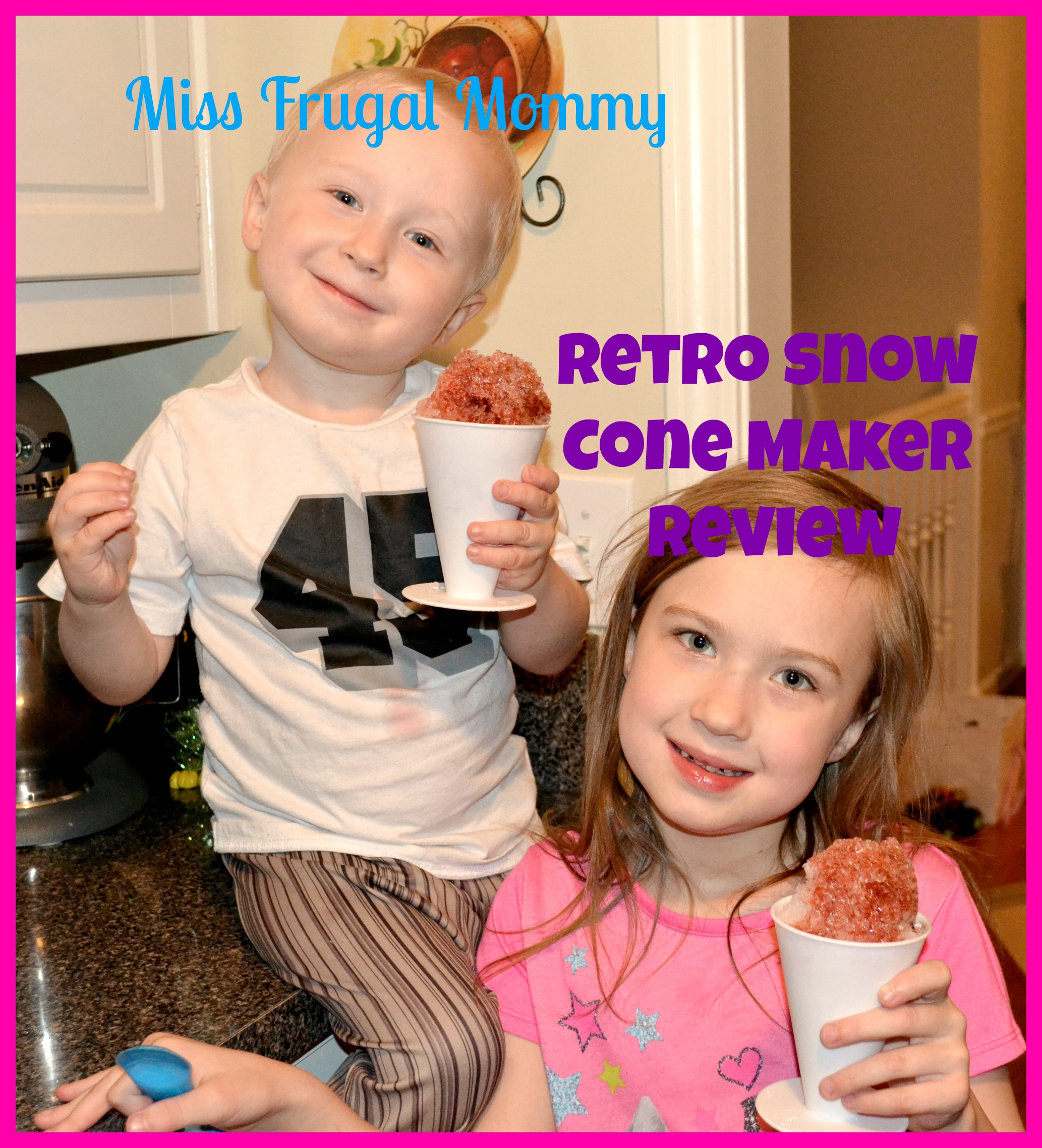 Nostalgia Electrics Retro Snow Cone Maker Review