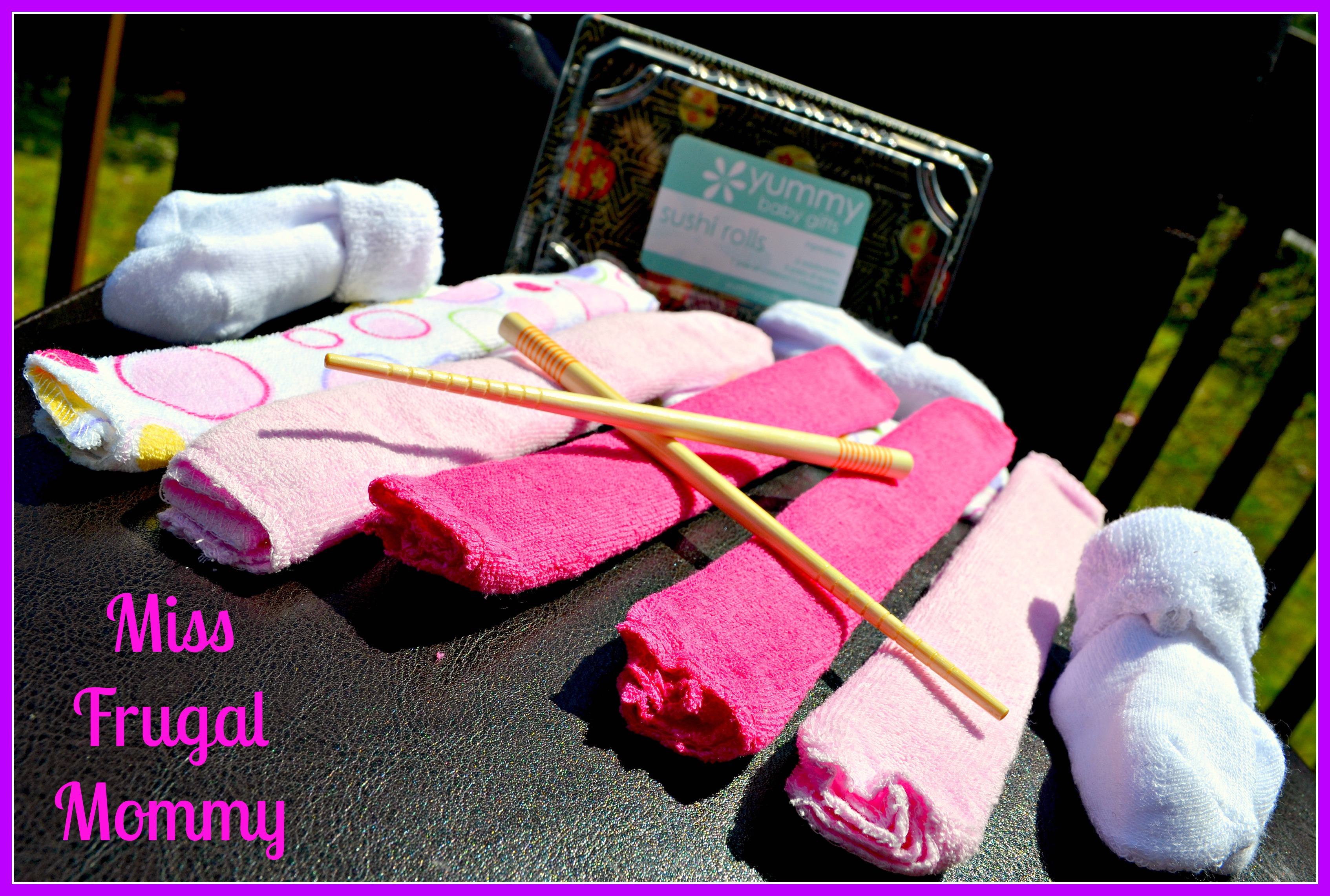 Yummy Baby Gifts: Sushi Rolls (Getting Ready For Baby Gift Guide)