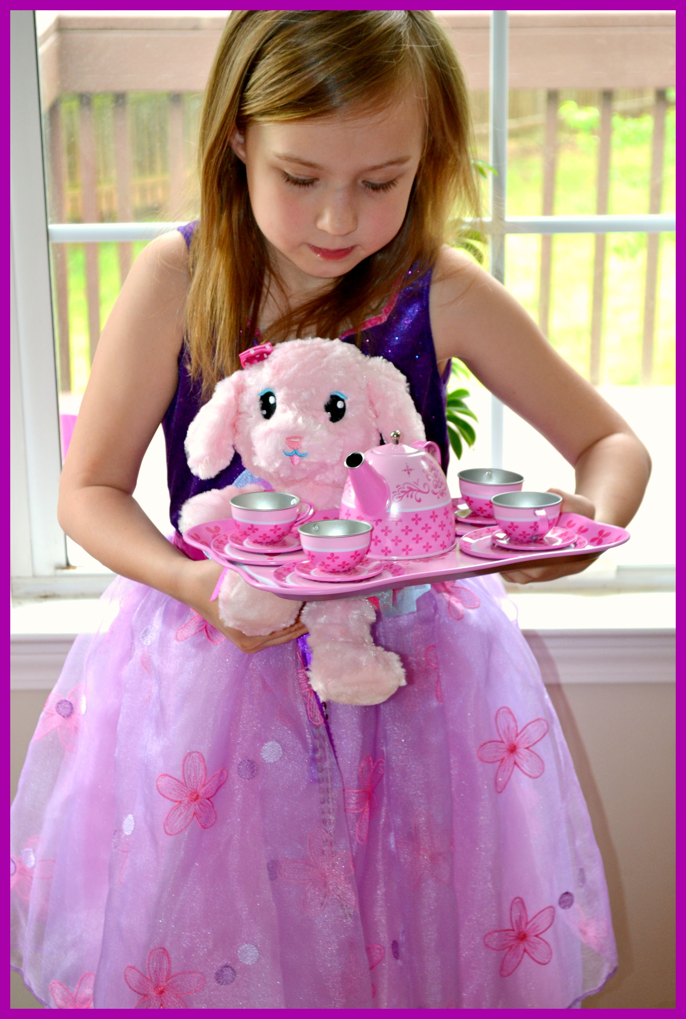 tea party dress up with whimsy wonder review miss frugal mommy. Black Bedroom Furniture Sets. Home Design Ideas