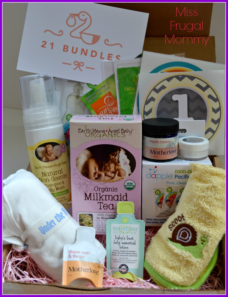 21 Bundles Subscription Box Review (Getting Ready For Baby Gift Guide)