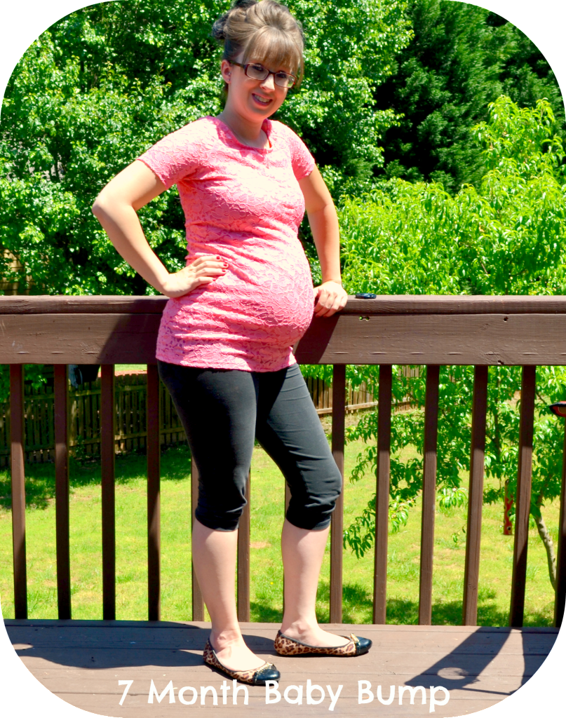 Pregnancy Update: 7 Month Baby Bump