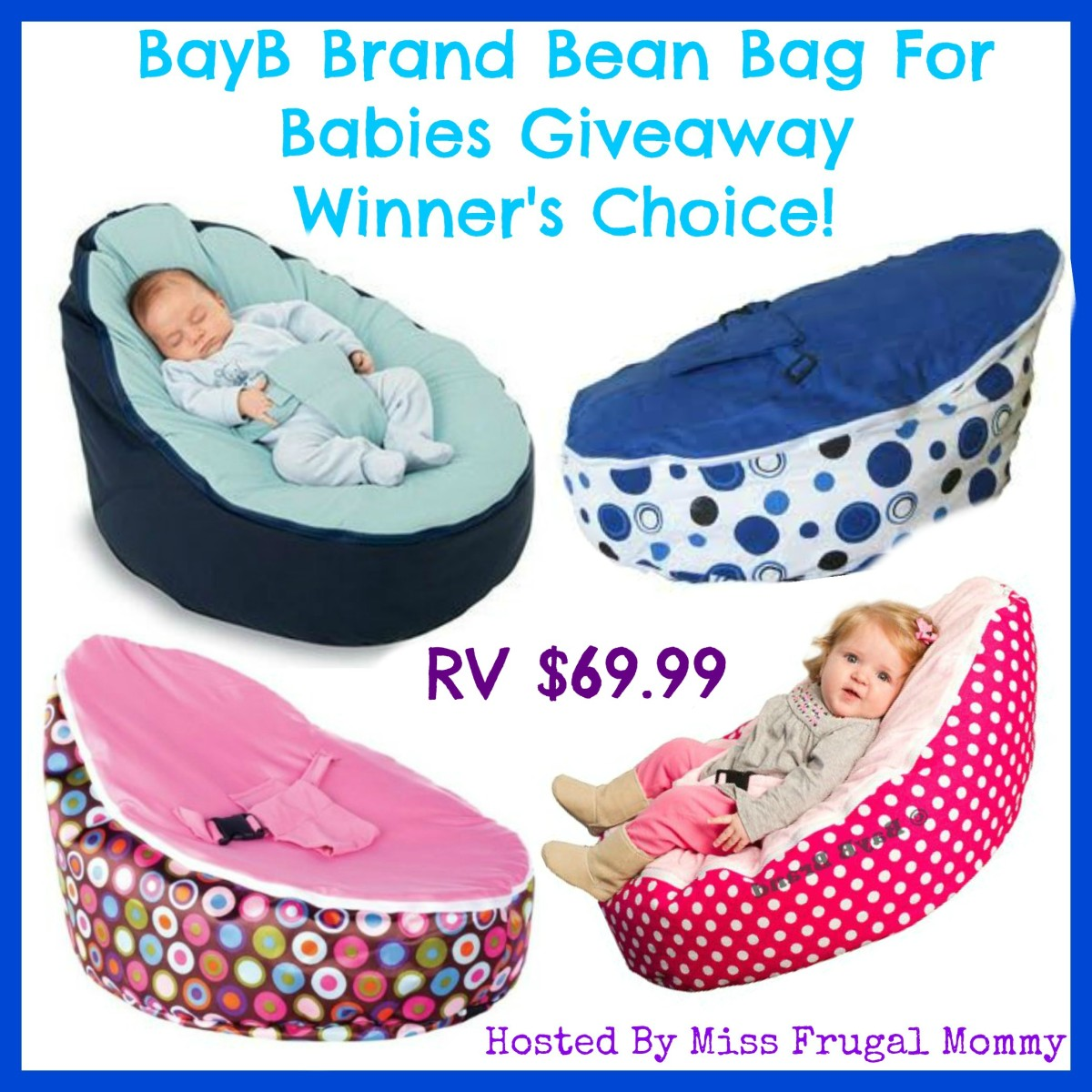 BayB Brand Bean Bag Giveaway (Winner's Choice)