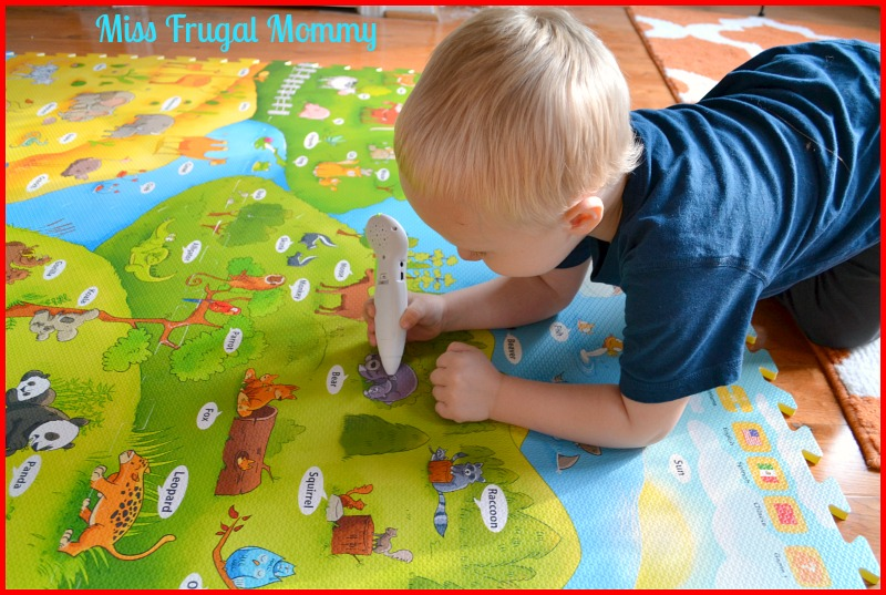 Creative Baby I-MAT My Animal World & Voice Pen Review