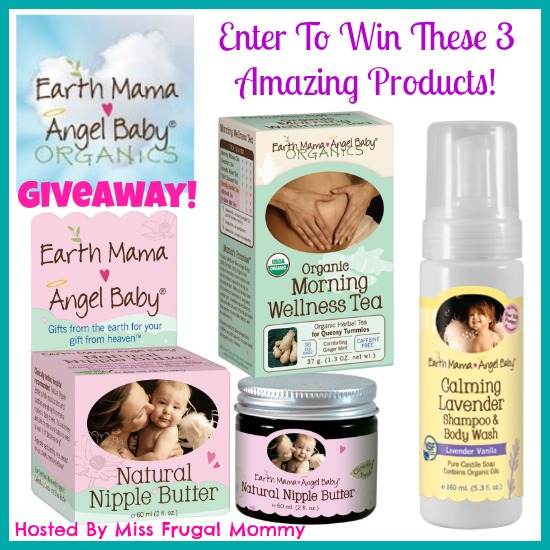 Earth Mama Angel Baby Organics Giveaway