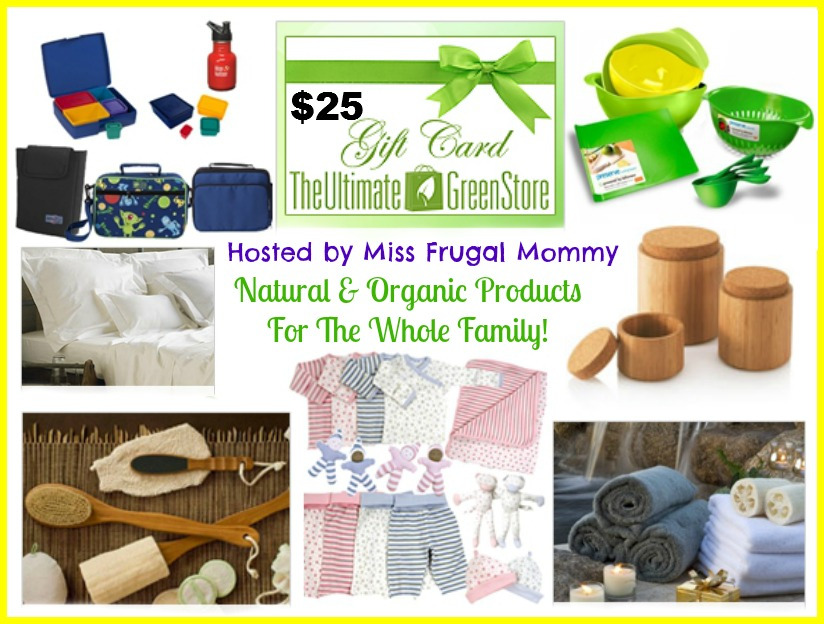 The Ultimate Green Store $25 Gift Card Giveaway