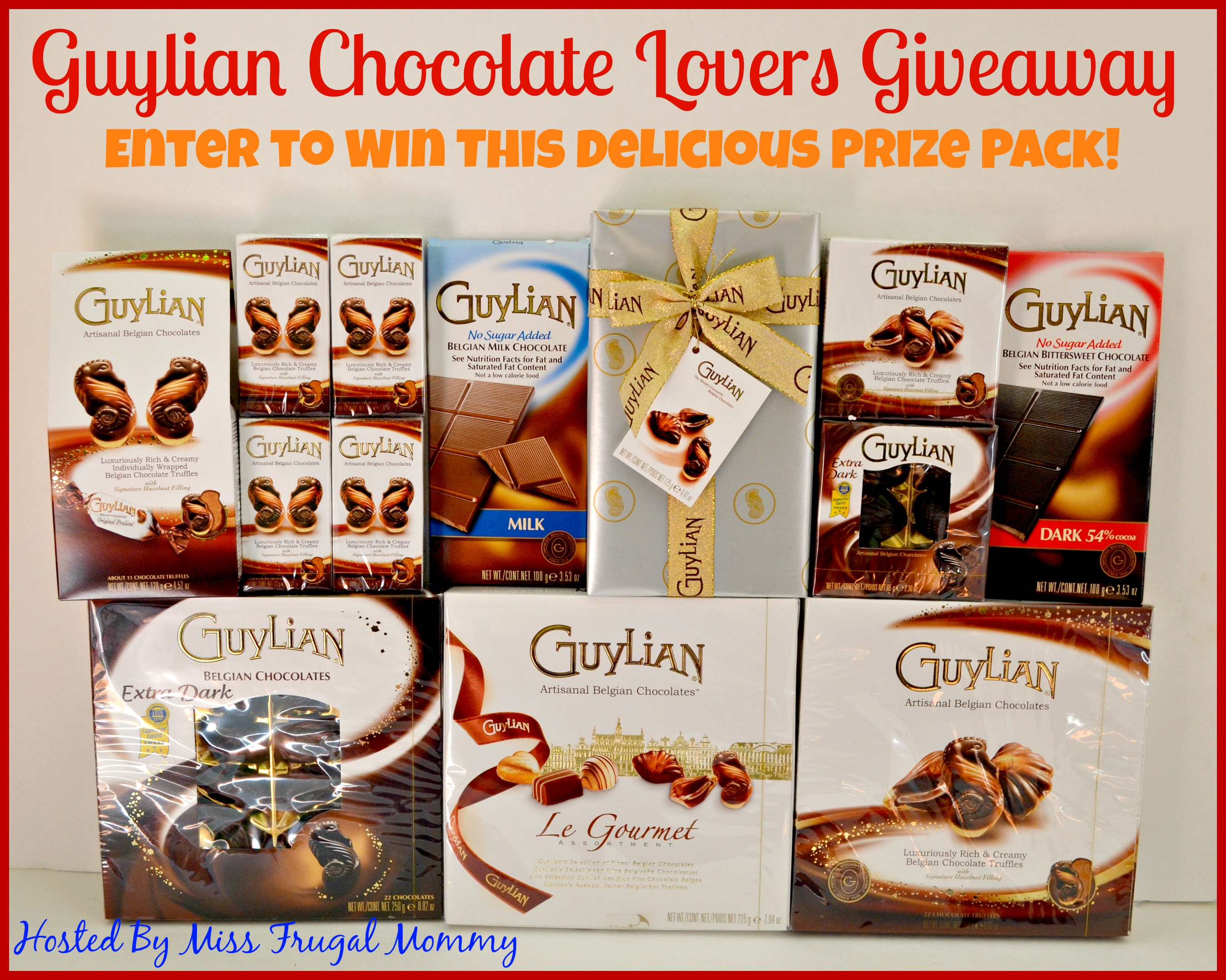 Guylian Chocolate Lovers Giveaway - Enter Online Sweeps